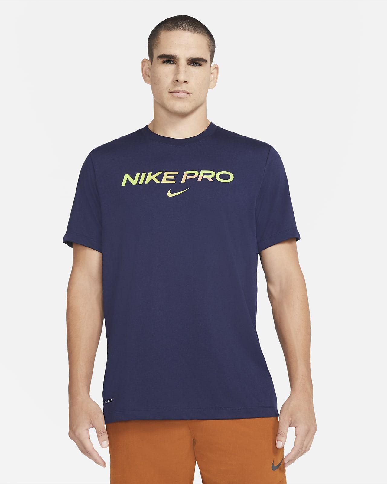Nike Pro T-skjorte til herre
