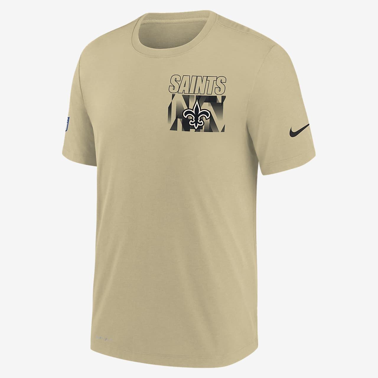 Nike Dri-FIT Facility (NFL New Orleans Saints) Men's T-Shirt