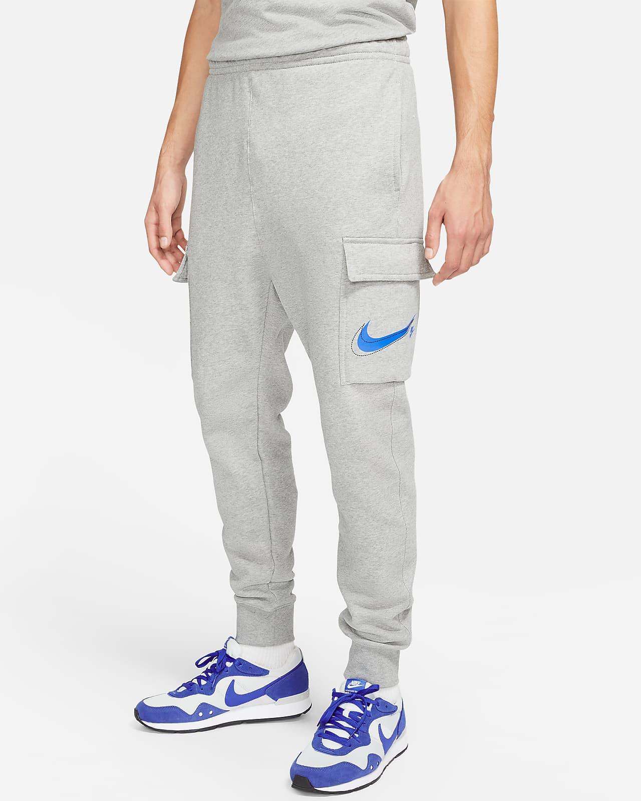 Cargobyxor i fleece Nike Sportswear Court för kvinnor