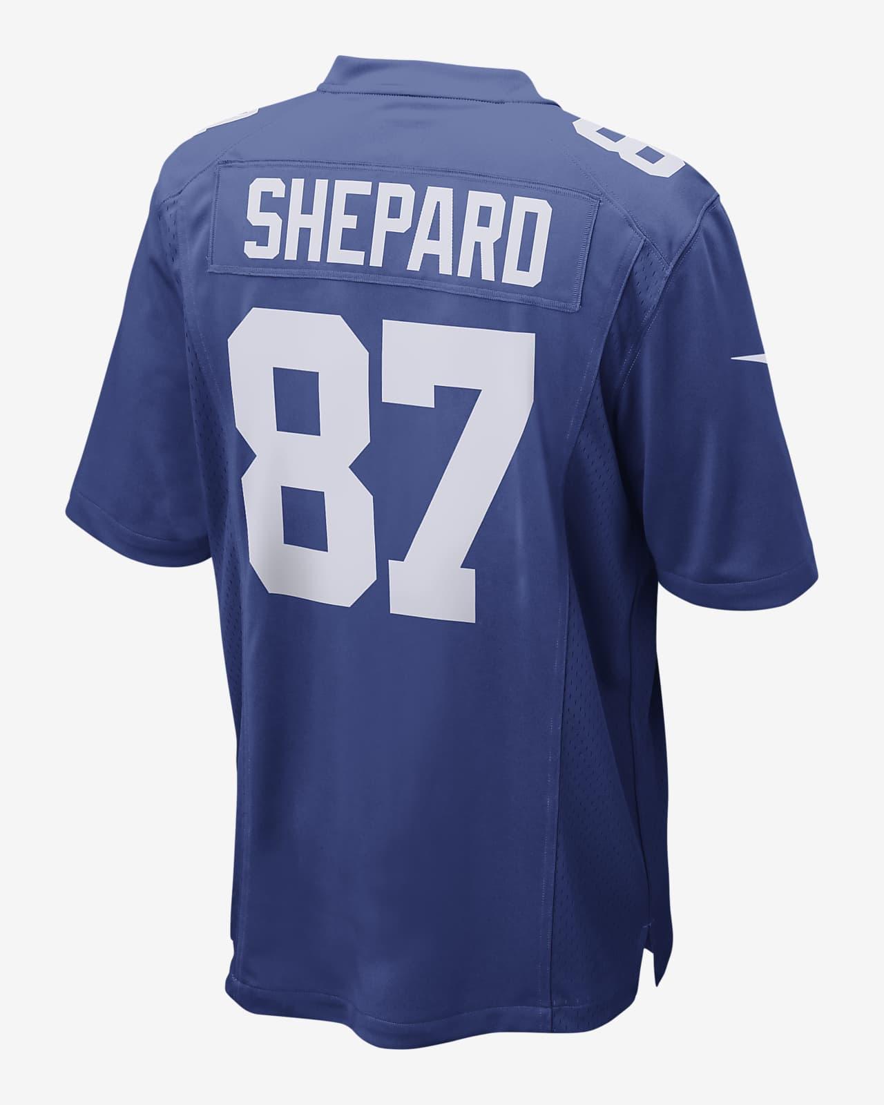 NFL New York Giants (Sterling Shepard) Men's Game Football Jersey