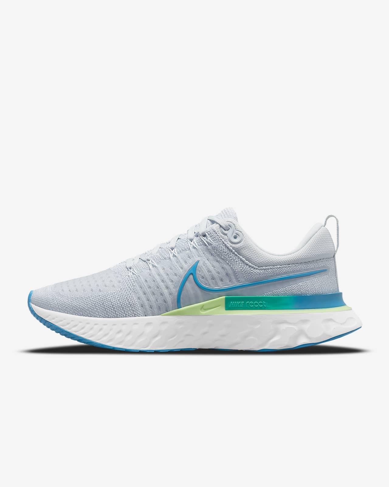 Nike React Infinity Run Flyknit 2-løbesko til vej til mænd