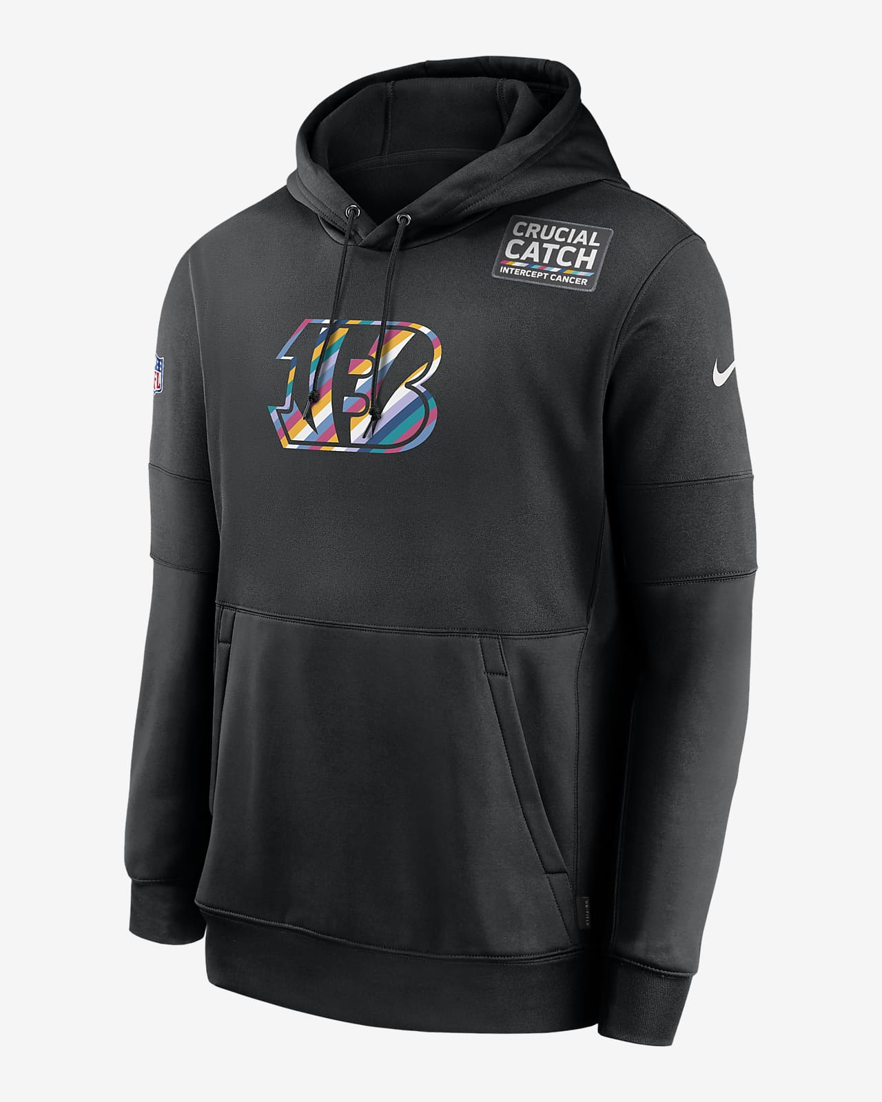 Nike Therma Crucial Catch (NFL Bengals) Men's Hoodie