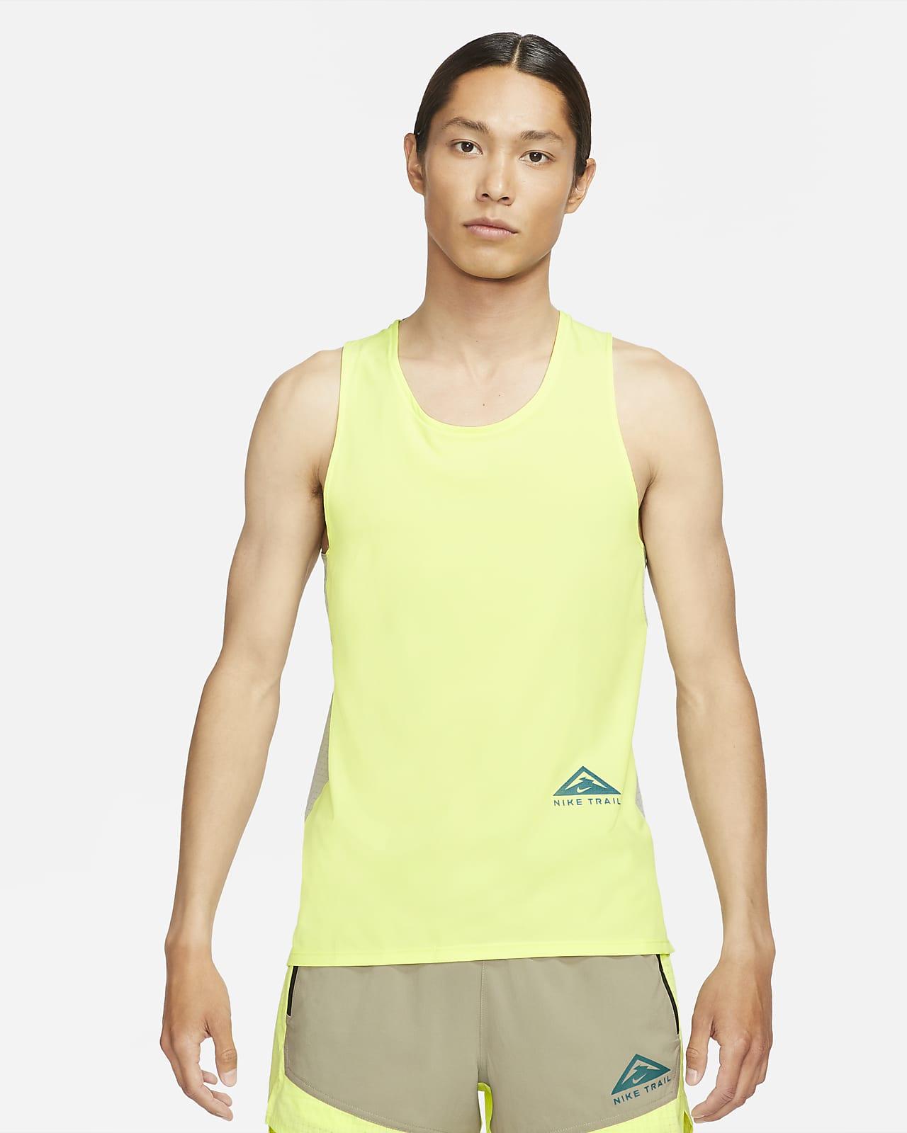 เสื้อกล้ามวิ่งเทรลผู้ชาย Nike Dri-FIT Rise 365