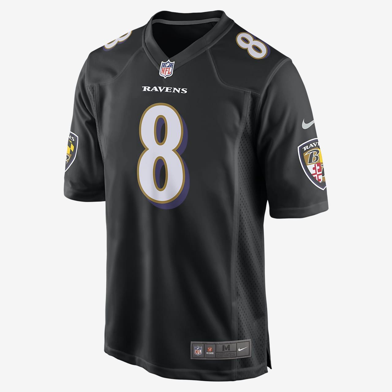 NFL Baltimore Ravens Game (Lamar Jackson) Men's Football Jersey
