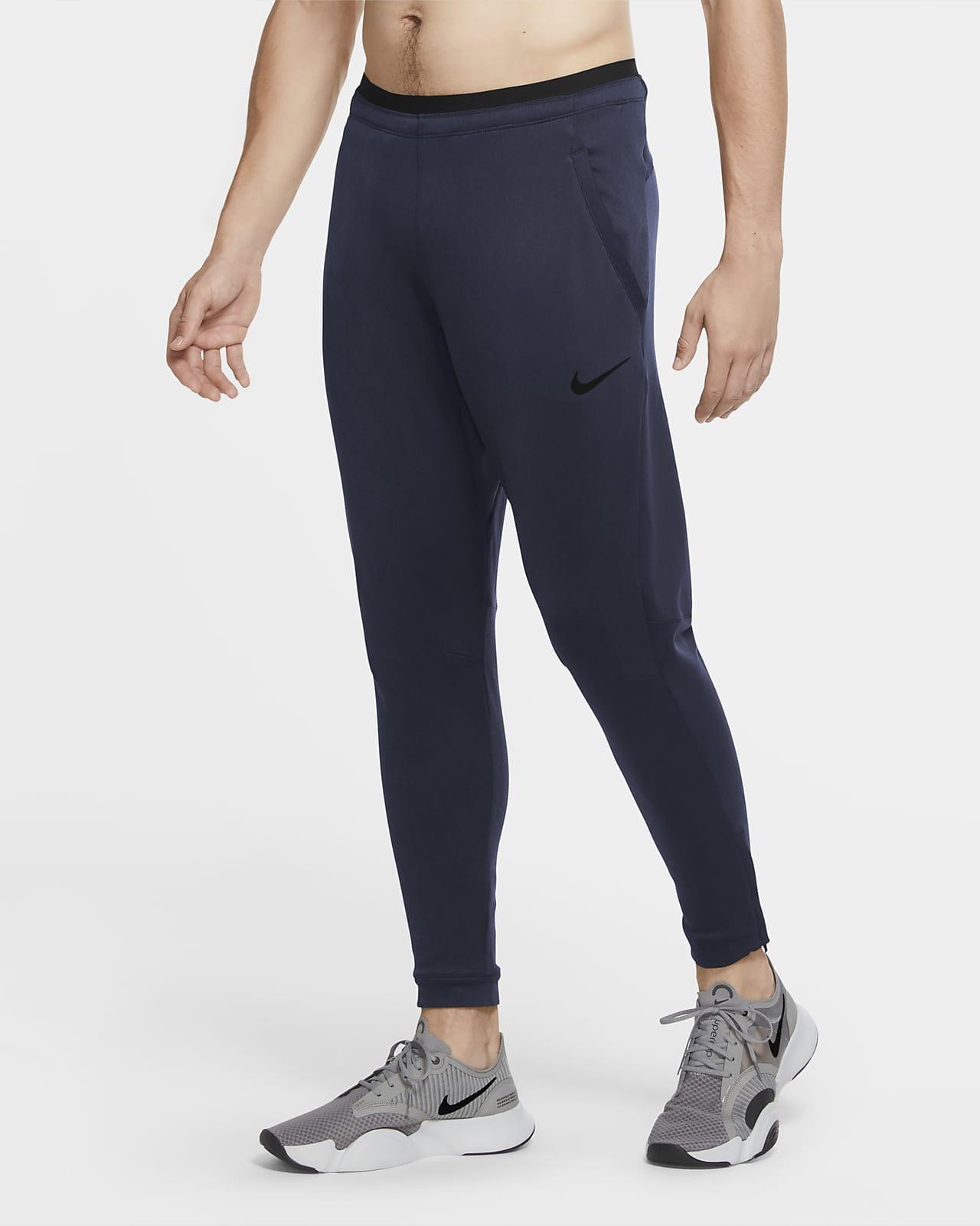 Fleecebyxor Nike Pro för män