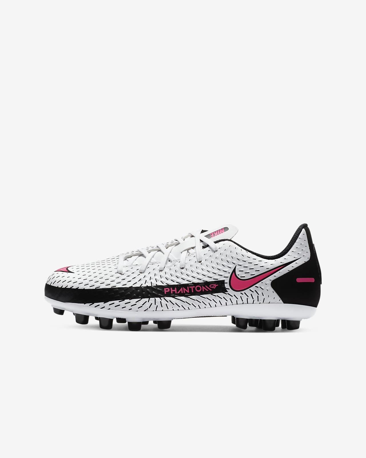 Chaussure de football à crampons pour terrain synthétique Nike Jr. Phantom GT Academy AG pour Jeune enfant/Enfant plus âgé
