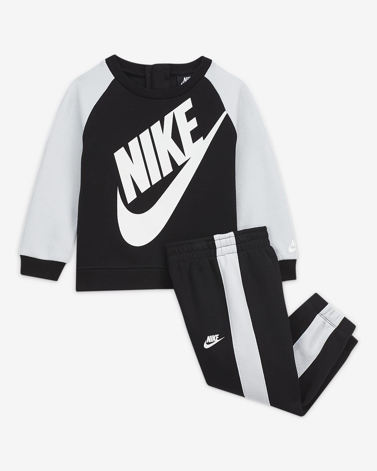 Conjunto de camisola e calças Nike para bebé (12–24meses)