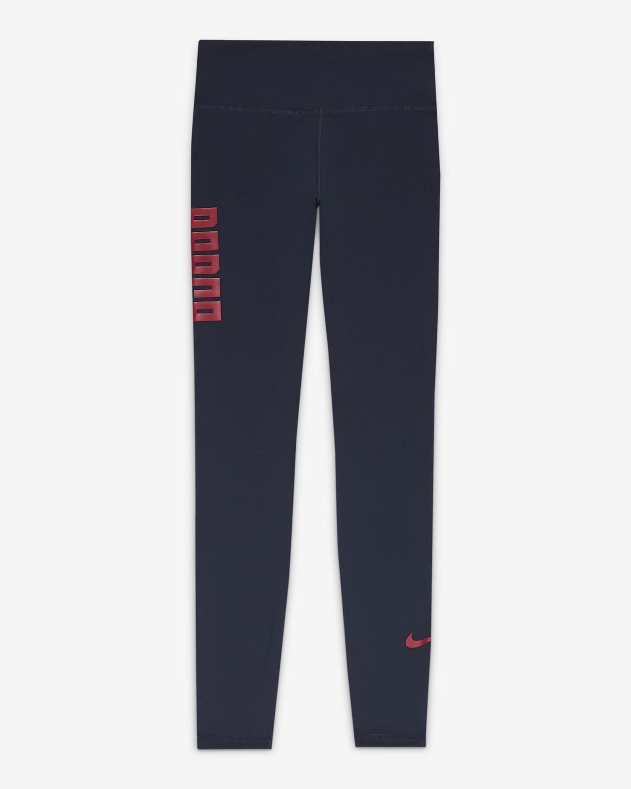 Leggings de cintura normal Nike One FC Barcelona para mulher