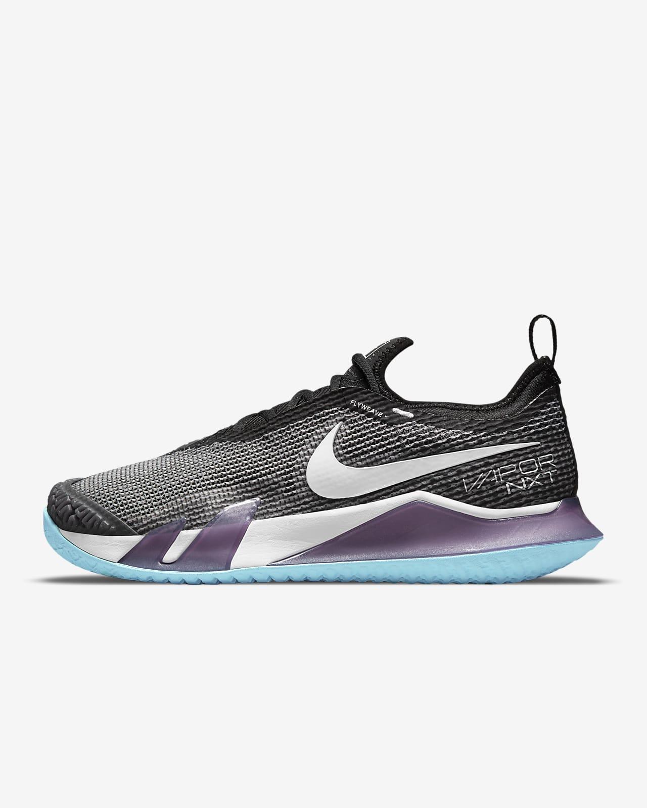 Calzado de tenis para cancha dura para mujer NikeCourt React Vapor NXT