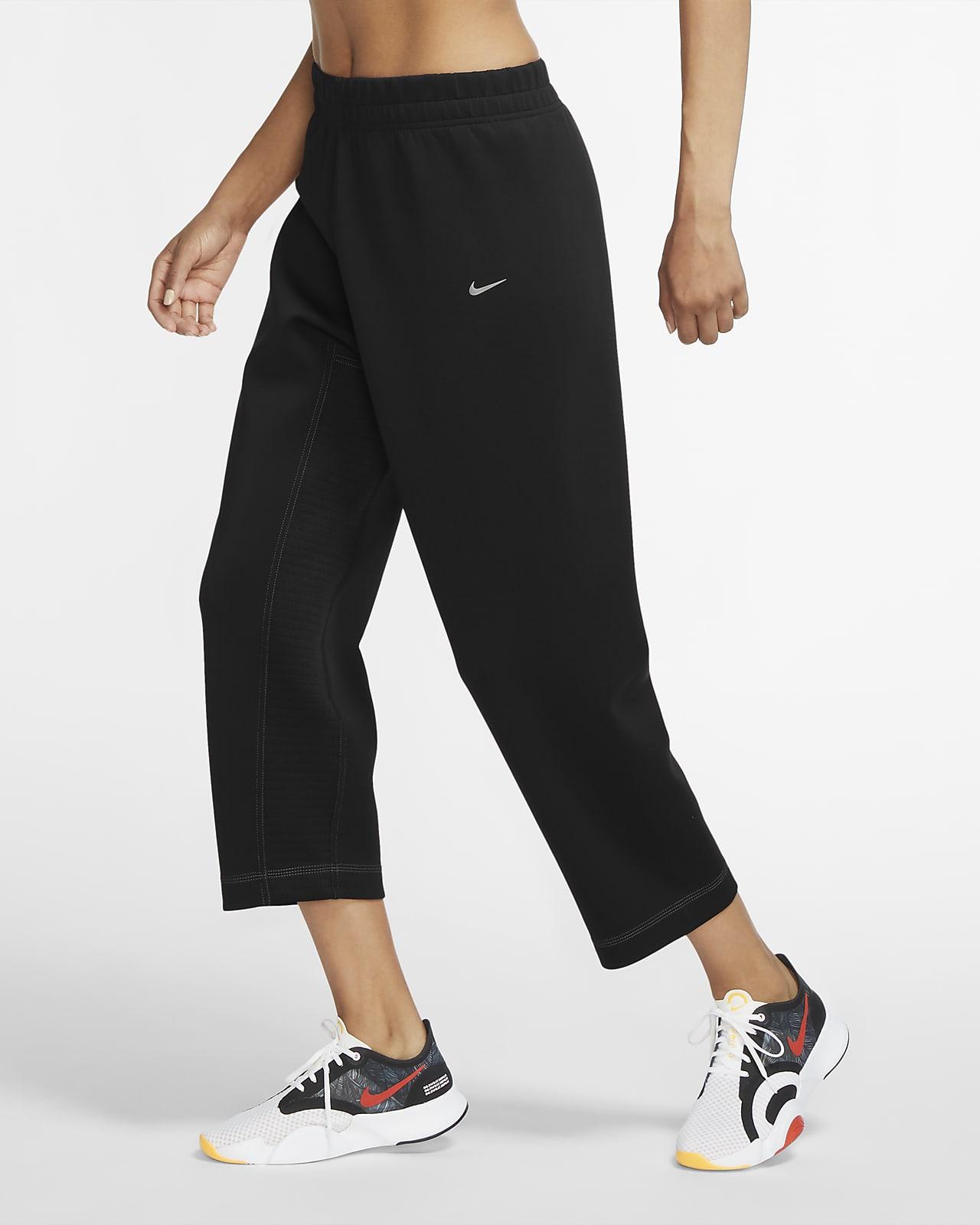 Nike Pro fleecebukse til dame