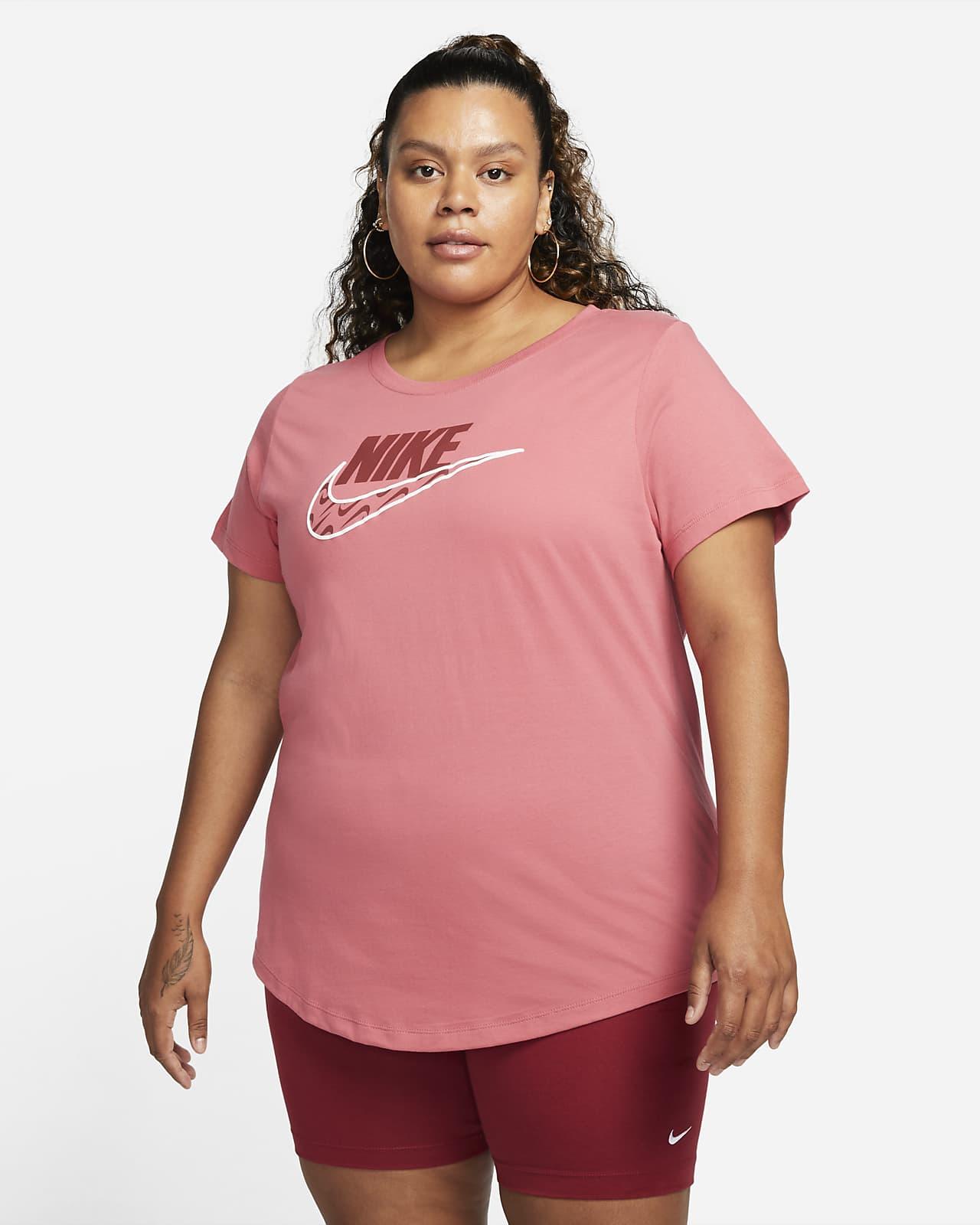 ナイキ スポーツウェア アイコン クラッシュ ウィメンズ Tシャツ (プラスサイズ)