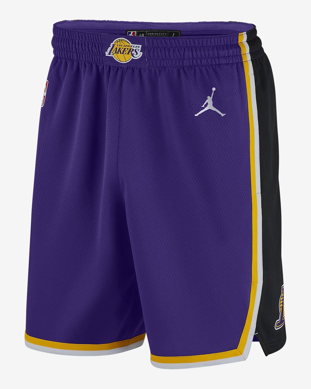 Calções NBA Jordan Swingman Lakers Statement Edition 2020 para homem