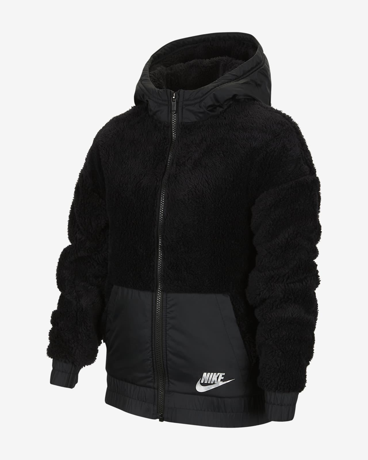 Nike Sportswear Big Kids' (Girls') Sherpa Jacket