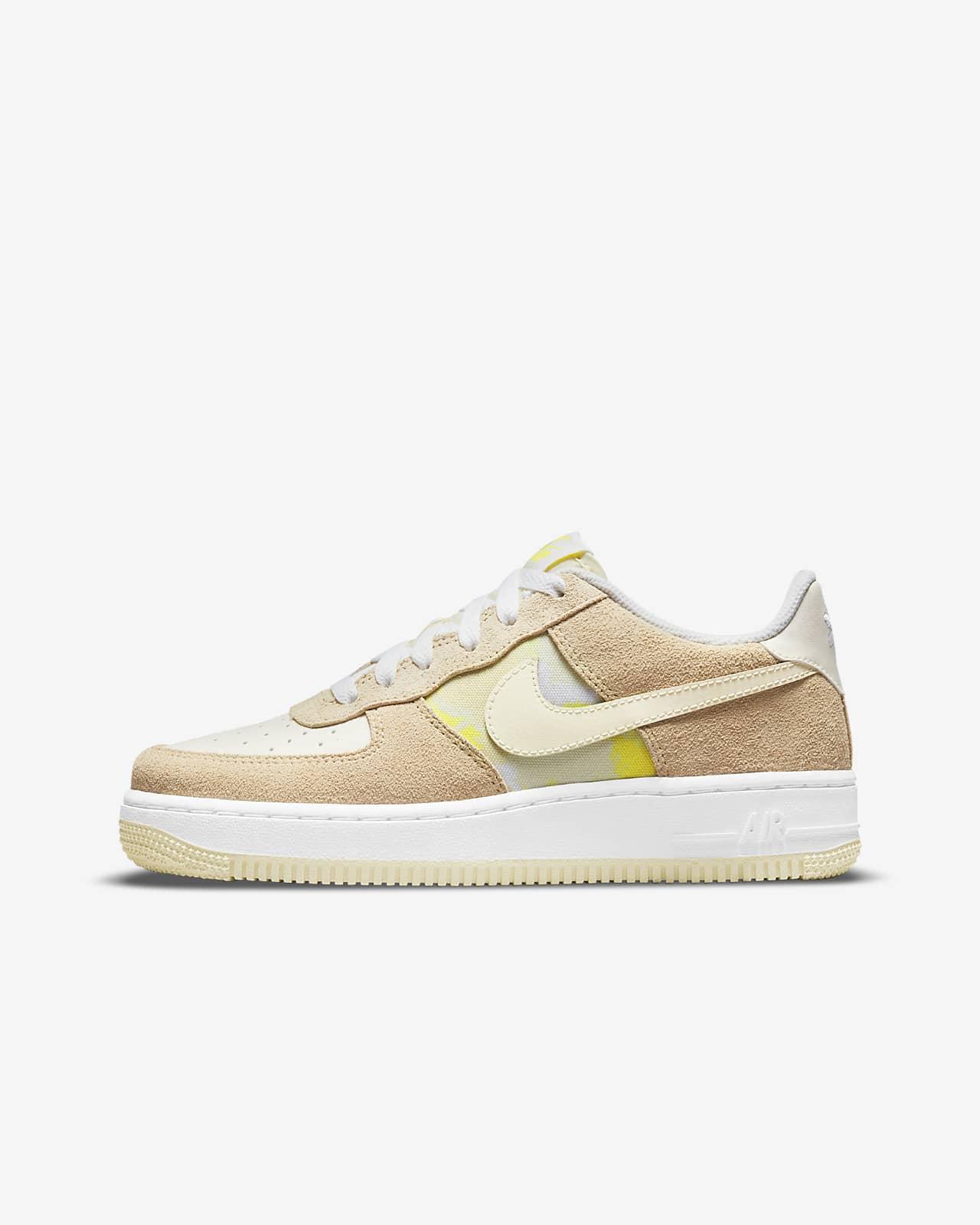 Nike Air Force 1 Low GS 大童运动童鞋