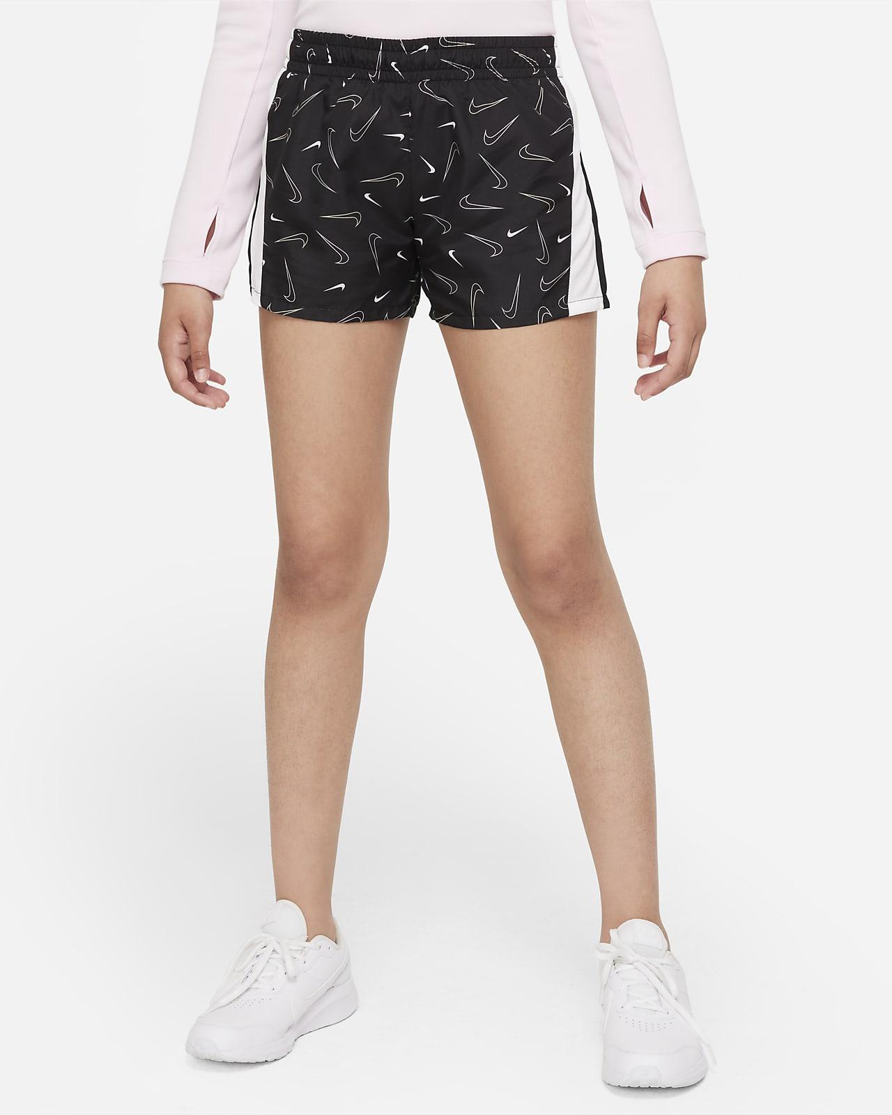 Nike Dri-FIT 10K2 Older Kids' (Girls') Printed Running Shorts