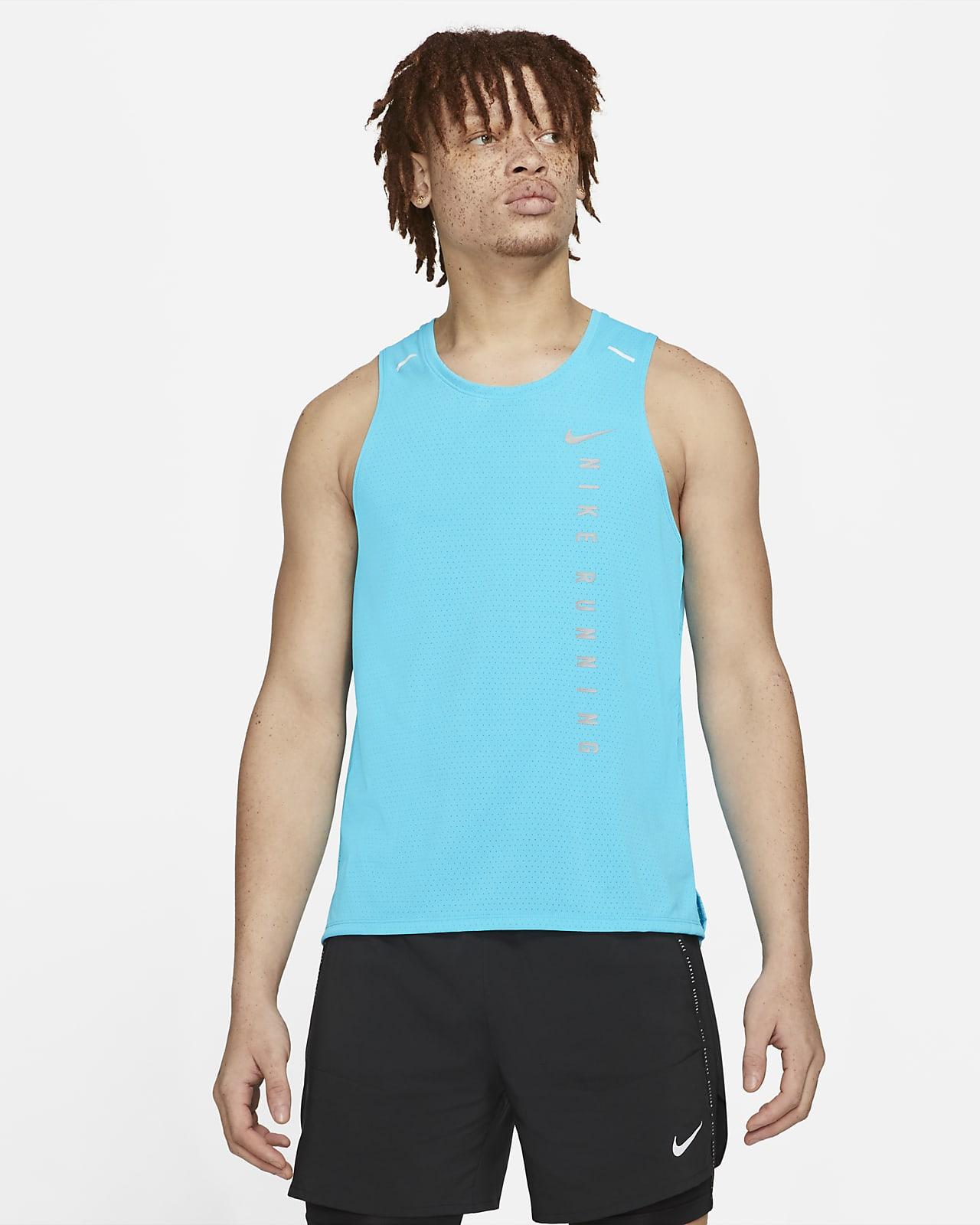 Camiseta de tirantes de running híbrido para hombre Nike Miler Run Division