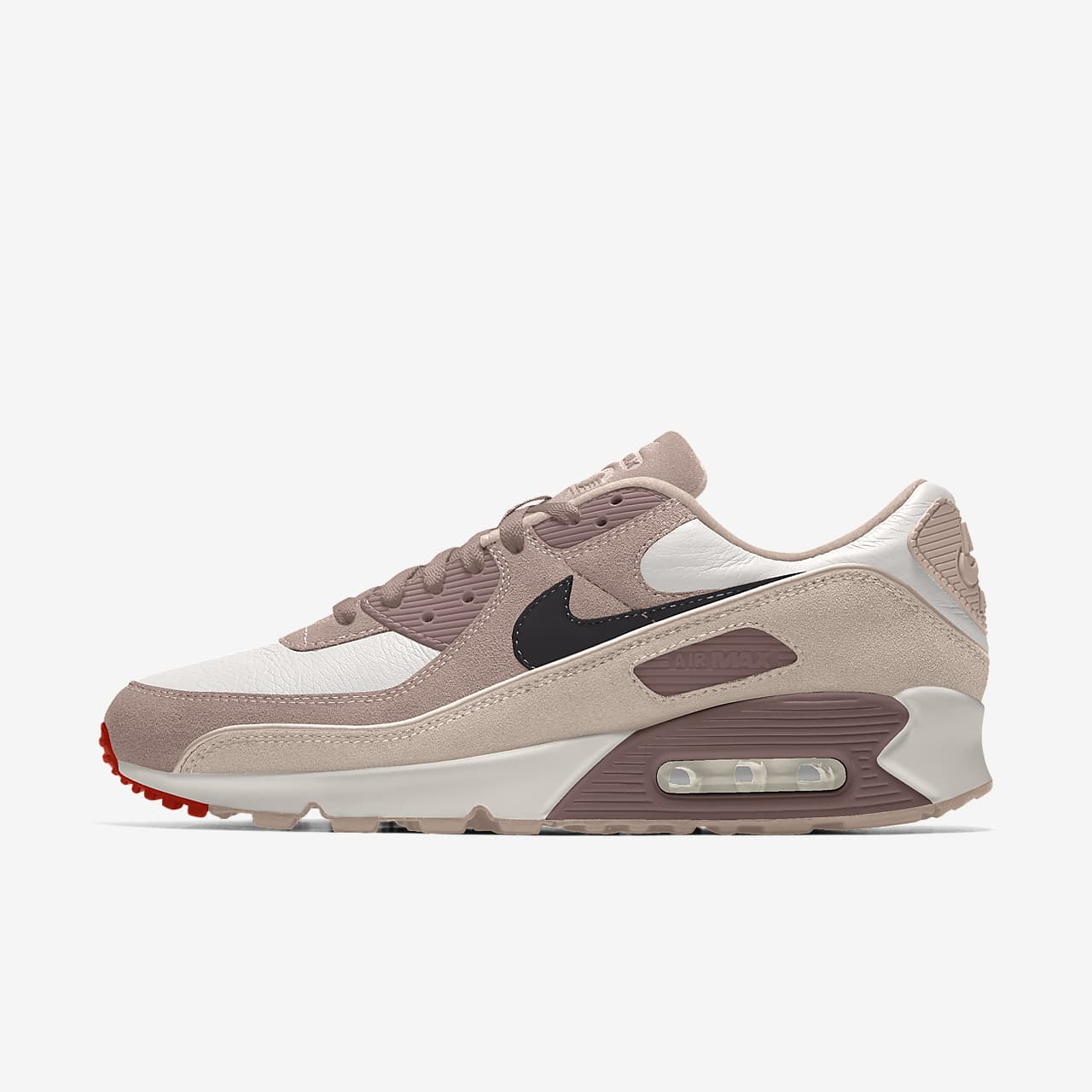 Chaussure personnalisable Nike Air Max 90 Unlocked By You pour Femme