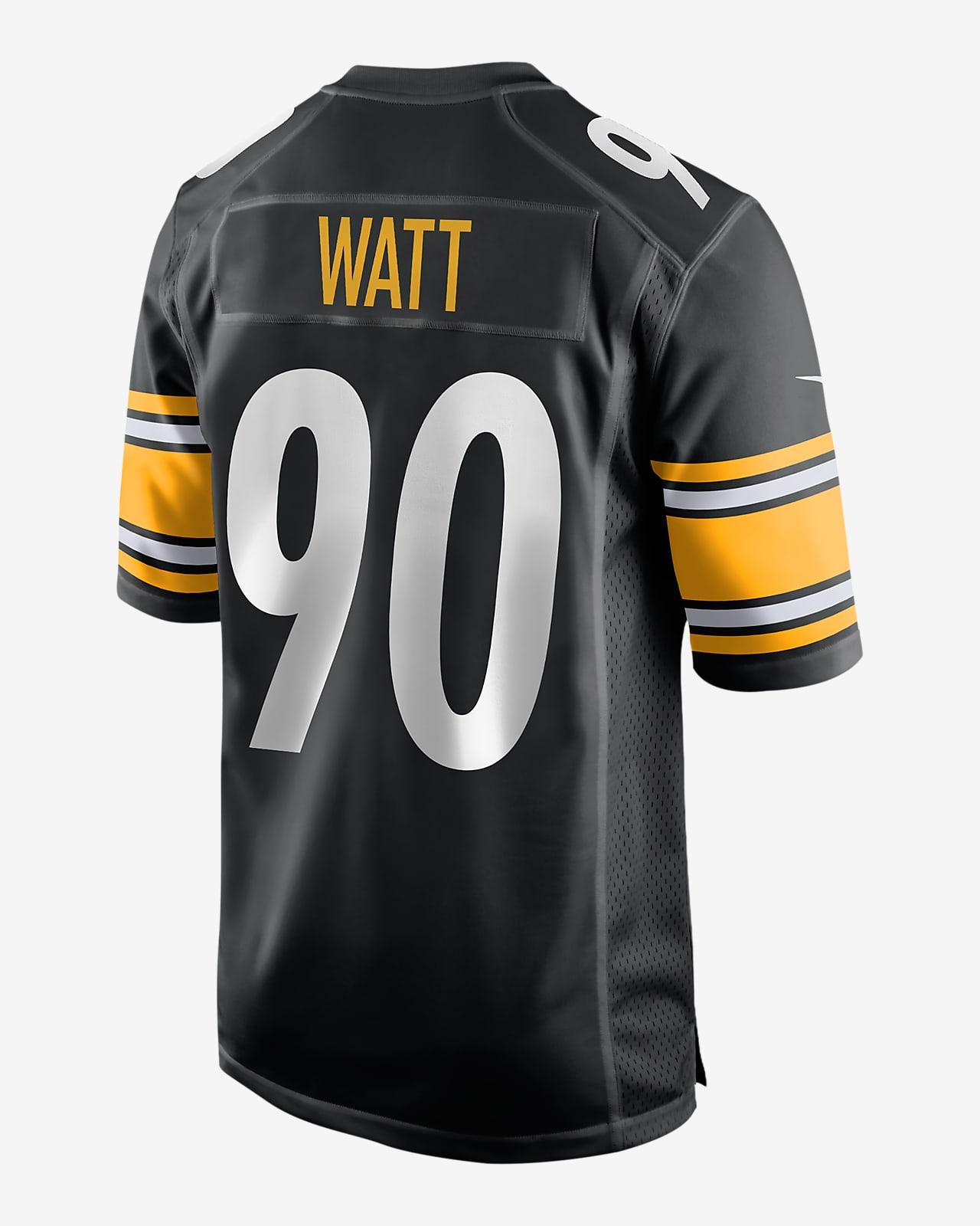 NFL Pittsburgh Steelers (T.J. Watt) Men's Game Football Jersey