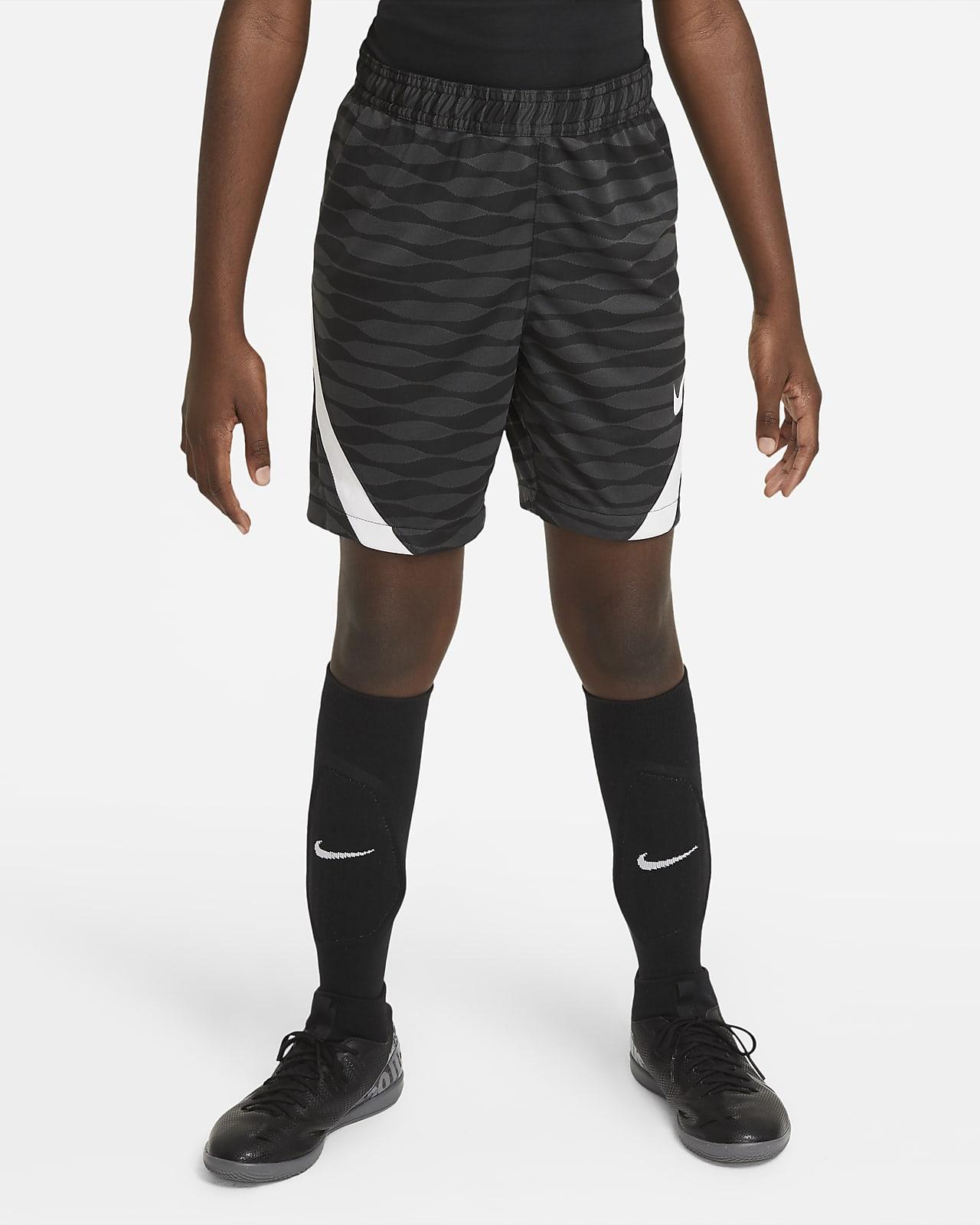 Shorts de fútbol tejidos para niños talla grande Nike Dri-FIT Strike