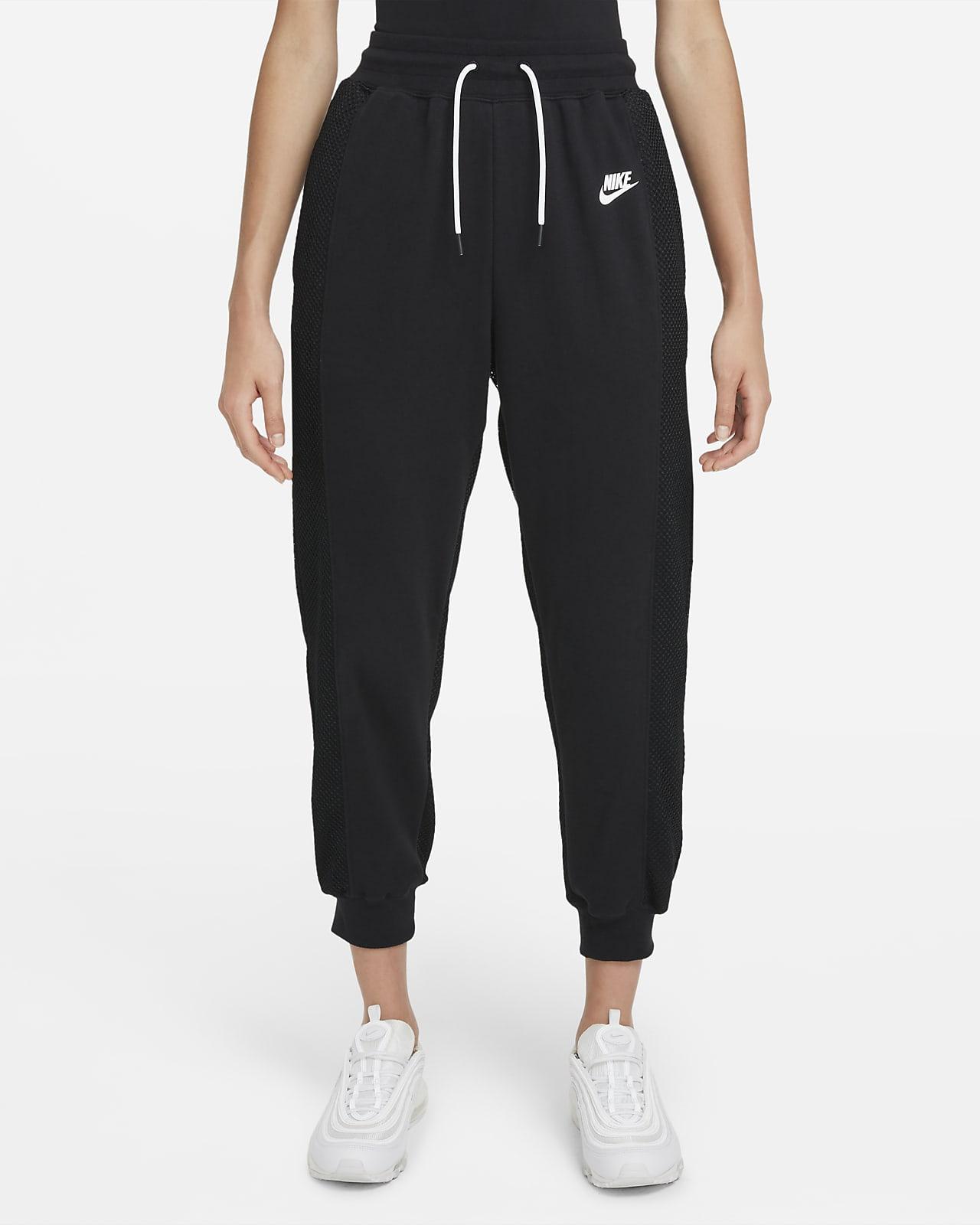 กางเกงเทนนิสขายาวผ้าฟลีซผู้หญิง Serena Design Crew