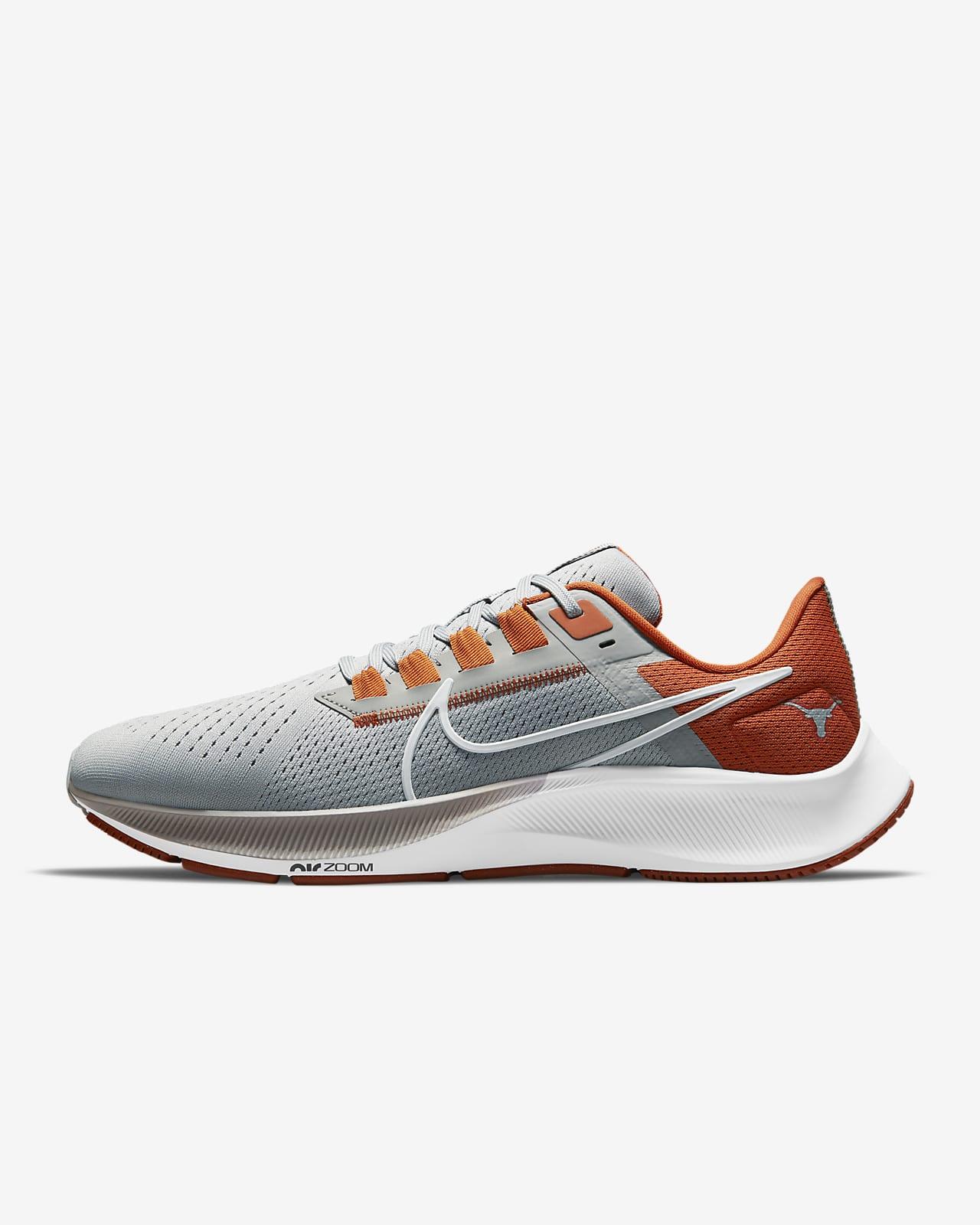 Nike College Air Zoom Pegasus 38 (Texas) Running Shoe
