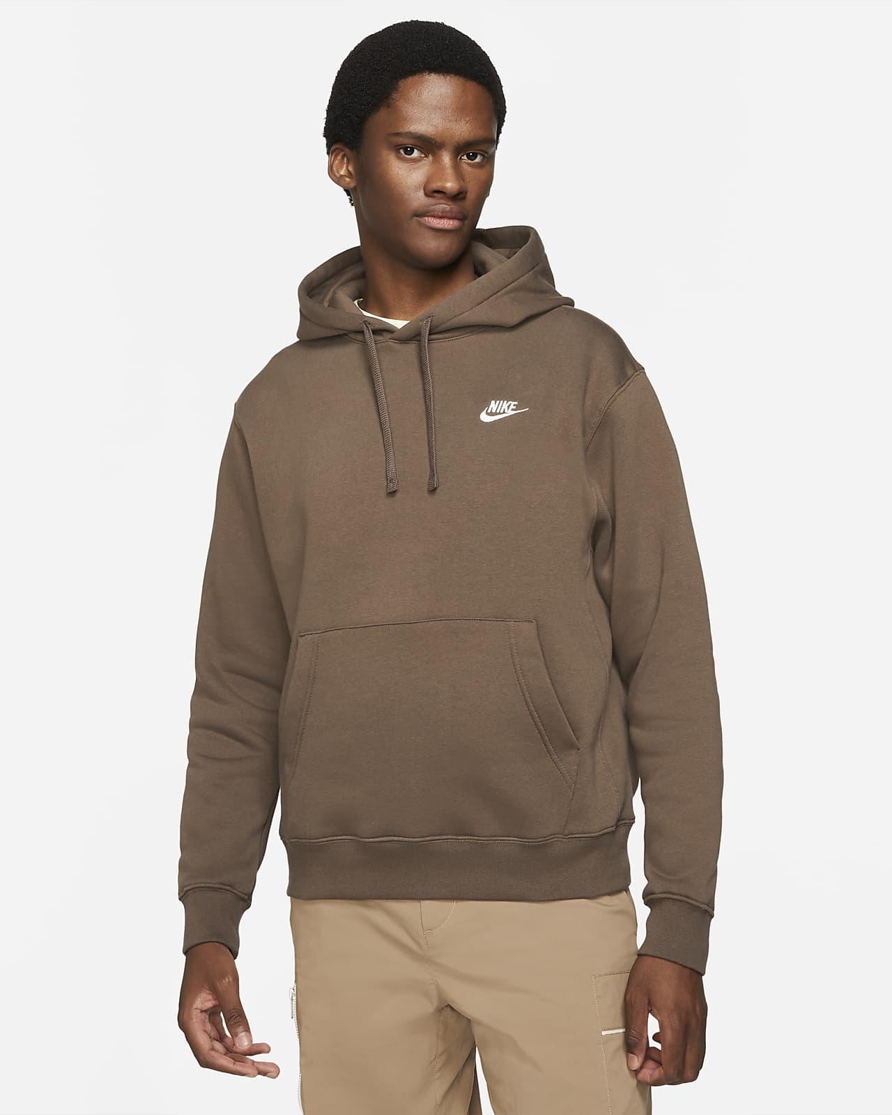 Nike Sportswear Club Fleece-pullover-hættetrøje til mænd