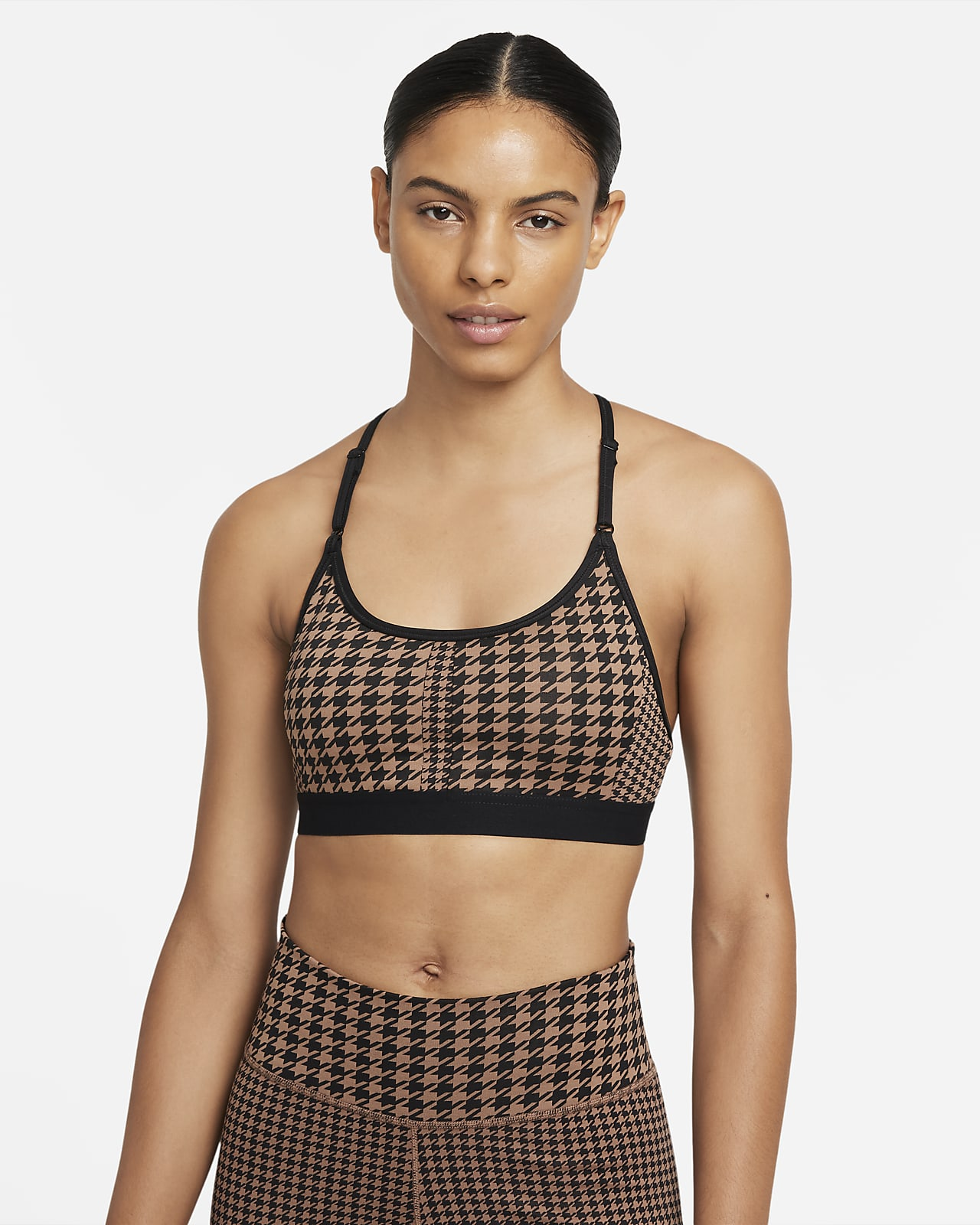 Nike Dri-FIT Indy Icon Clash Women's Light-Support Padded T-Back Sports Bra