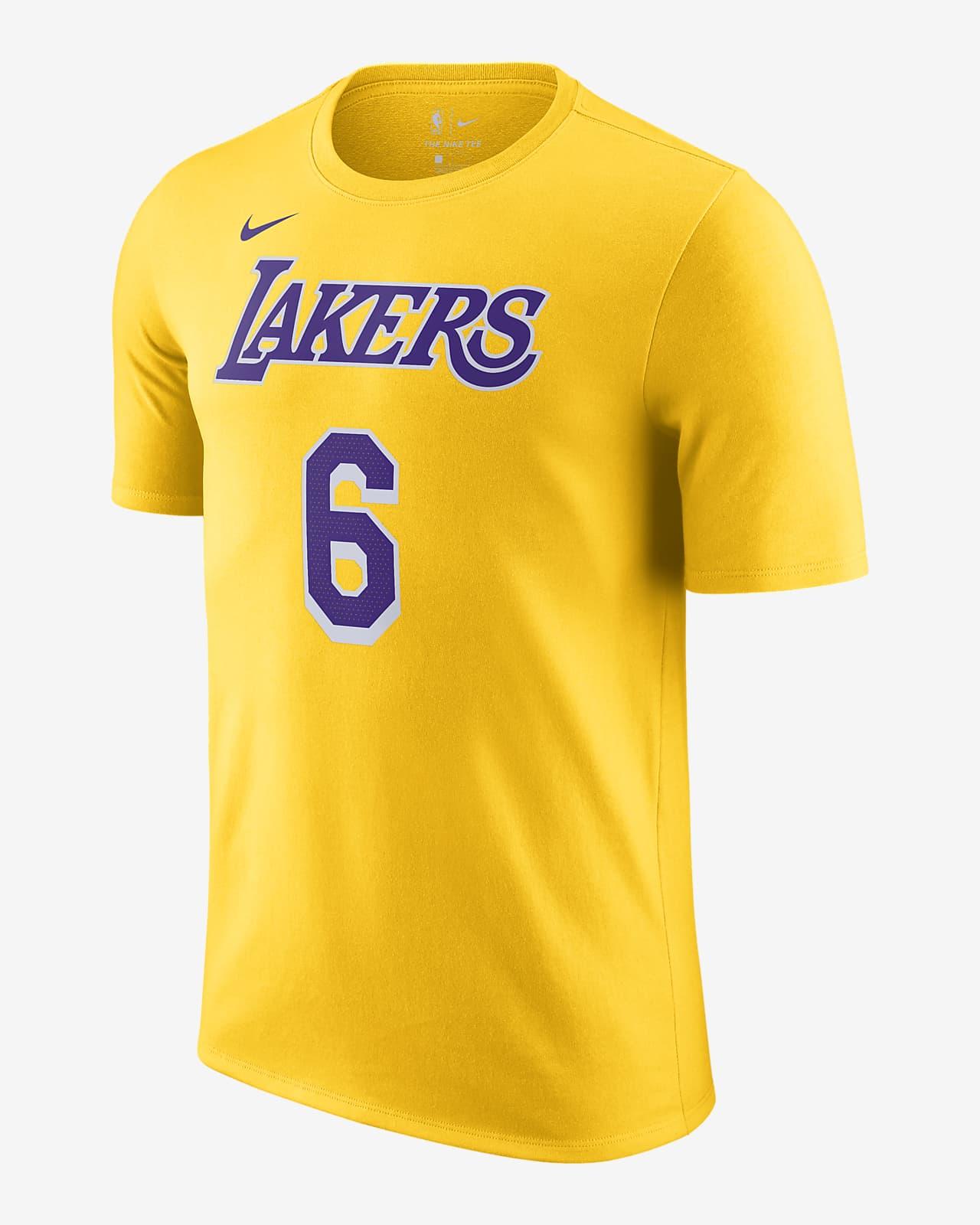 Los Angeles Lakers Nike NBA-herenshirt