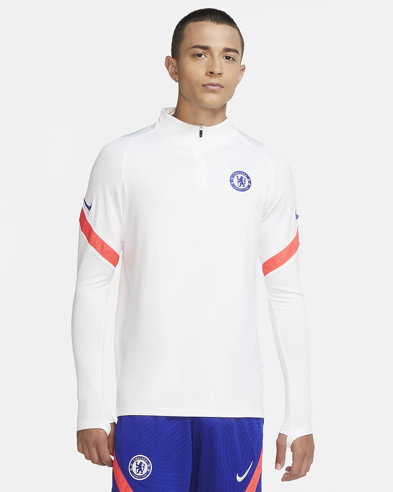 Chelsea F.C. Strike Men's Football Drill Top