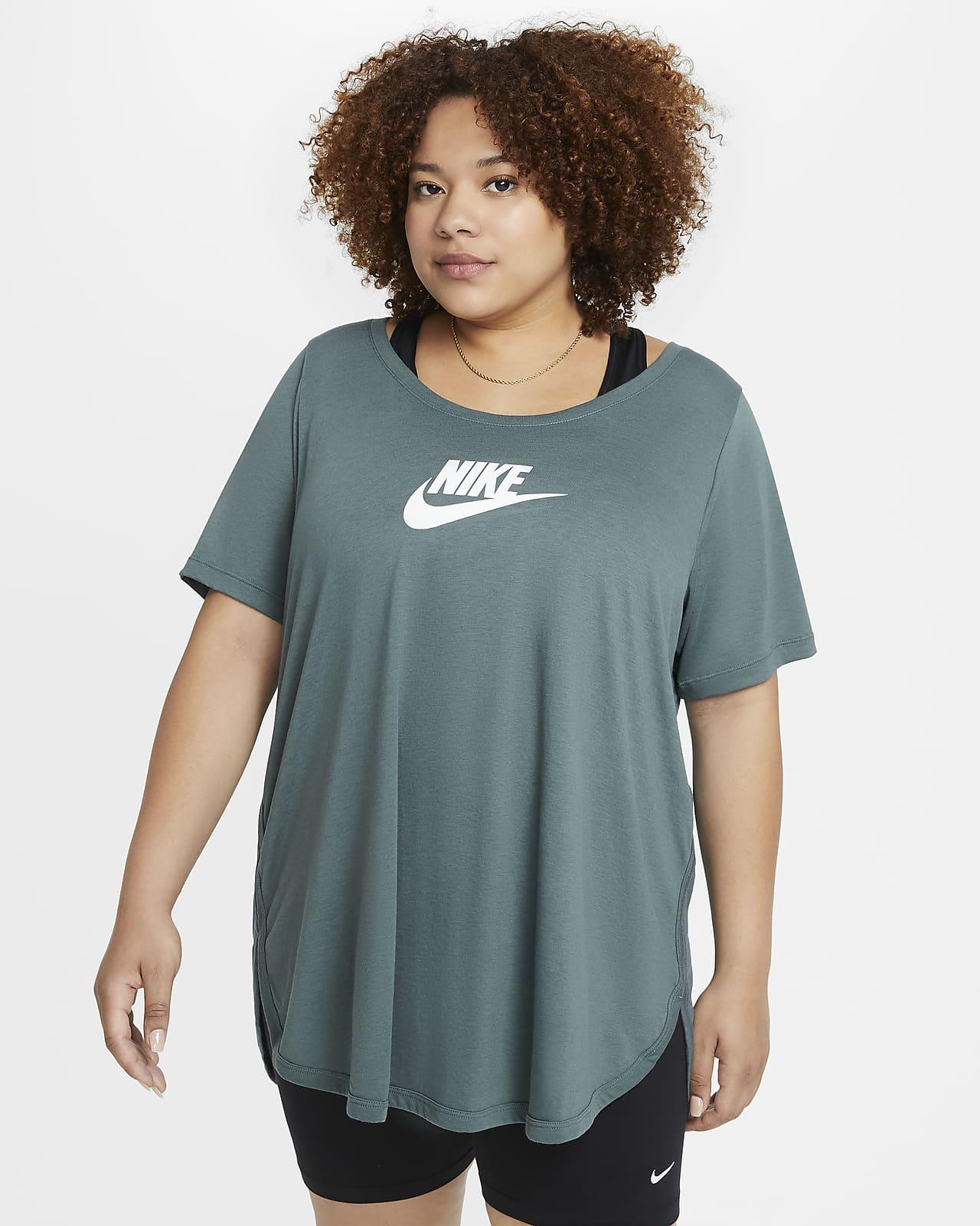 Playera larga para mujer (talla grande) Nike Sportswear Essential