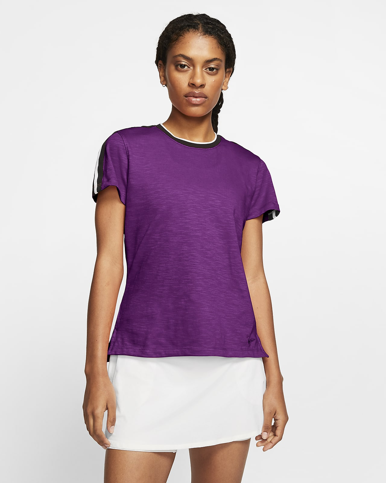 Nike Dri-FIT UV Women's Short-Sleeve Golf Top