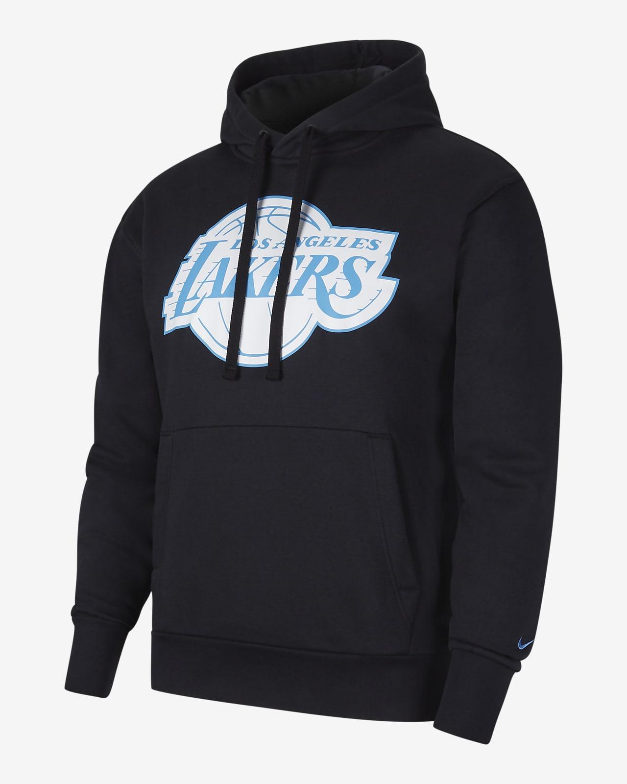 Sudadera con capucha sin cierre Nike NBA para hombre Los Angeles Lakers City Edition Logo