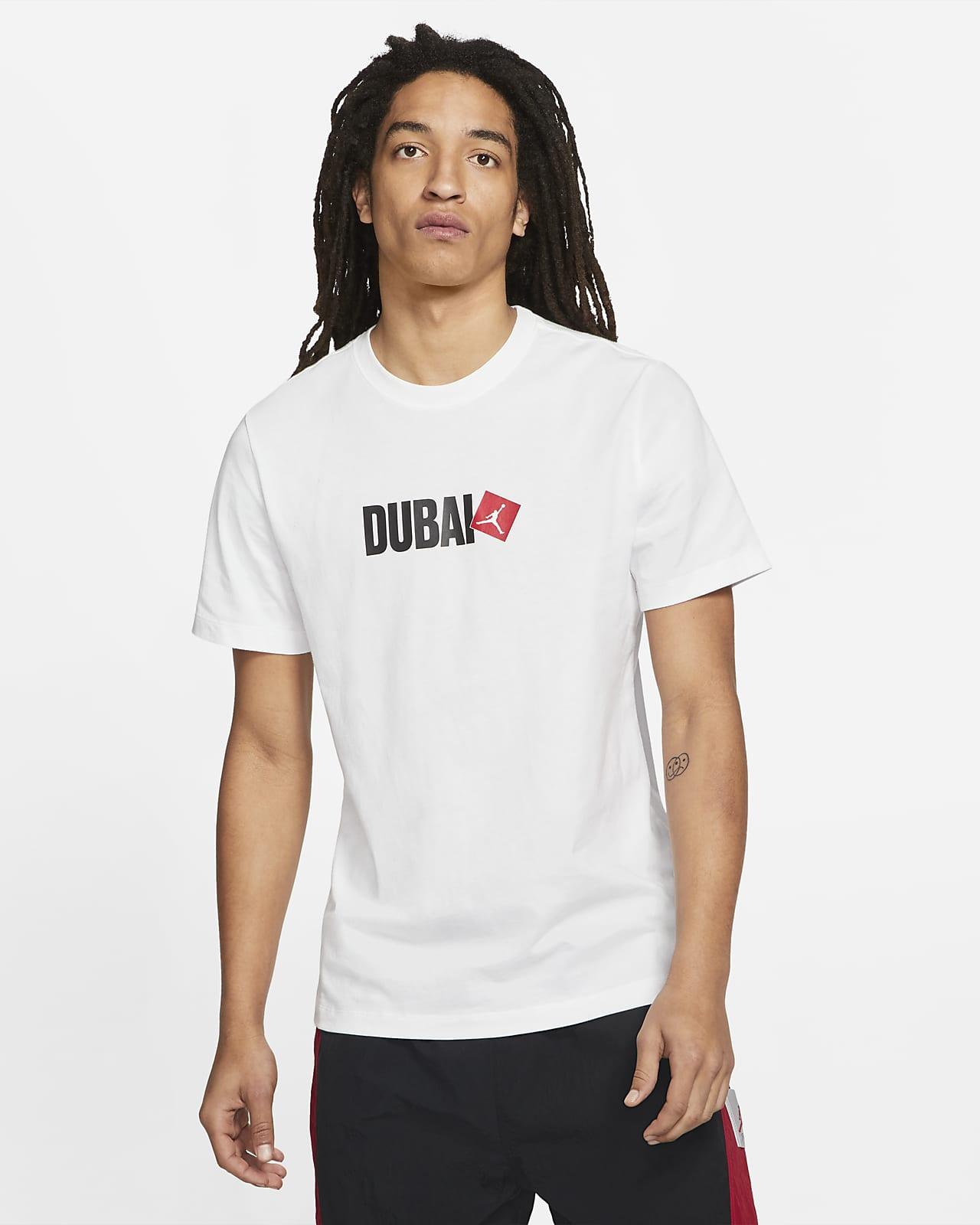 Playera de manga corta para hombre Jordan Dubai