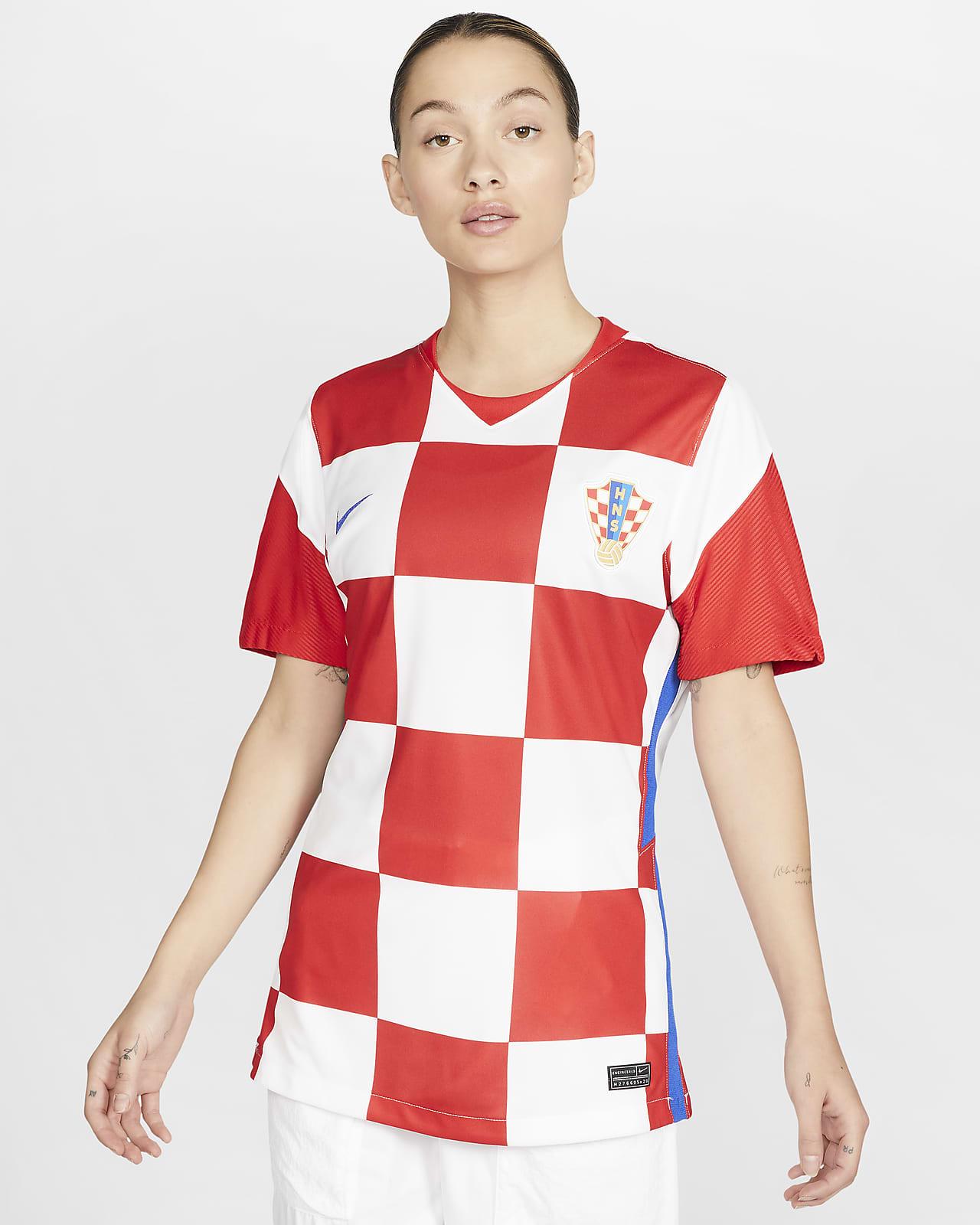 Женское футбольное джерси из домашней формы сборной Хорватии 2020 Stadium