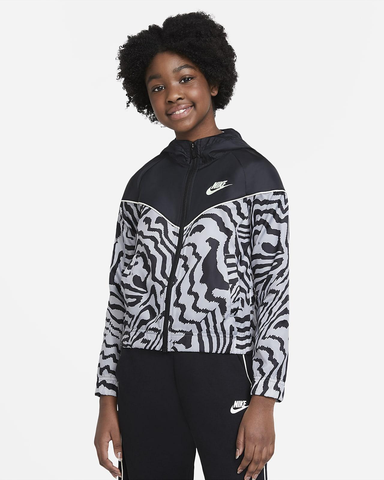 Giacca stampata Nike Sportswear Windrunner - Ragazza
