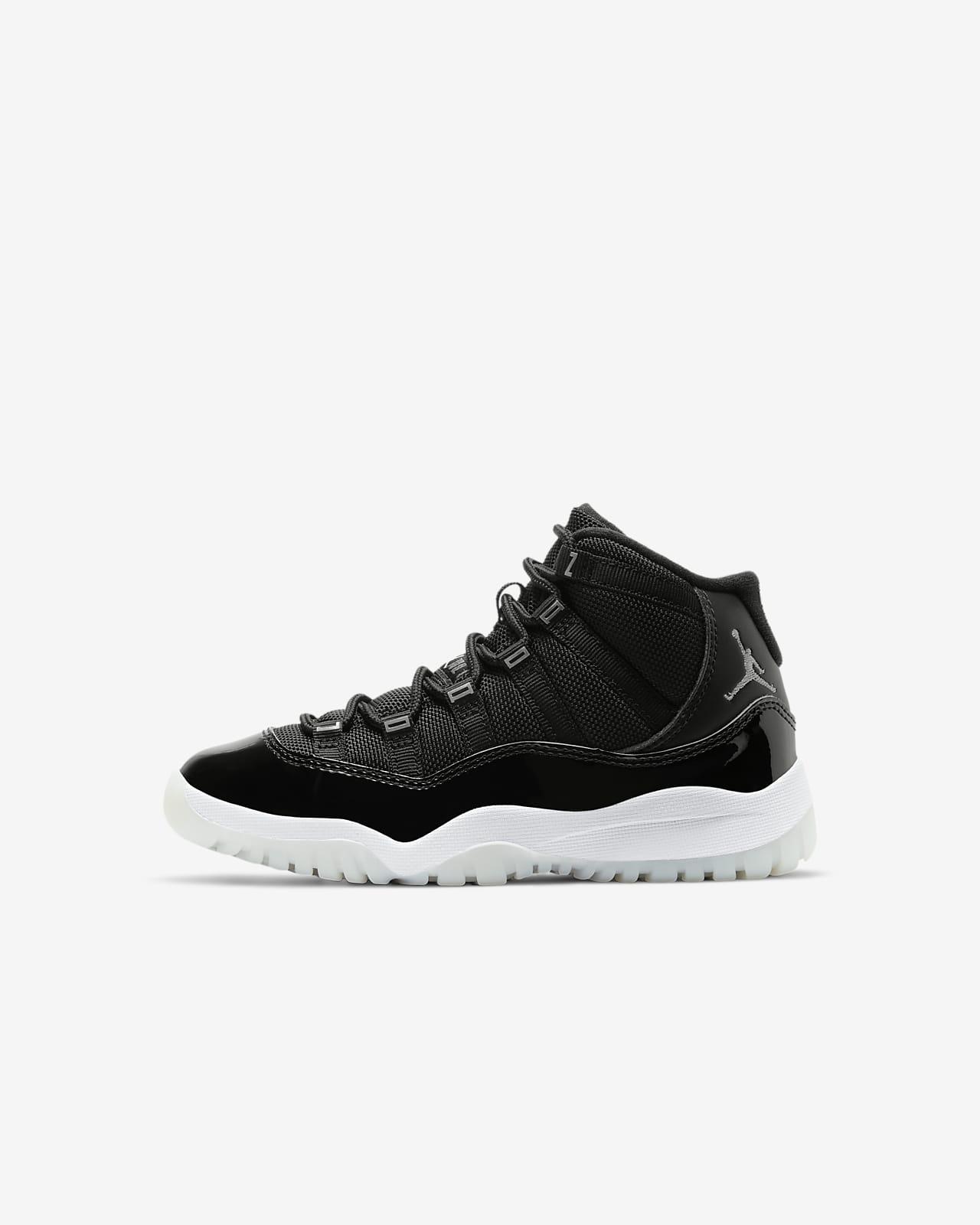 Air Jordan 11 Retro 3/4-sko til små børn