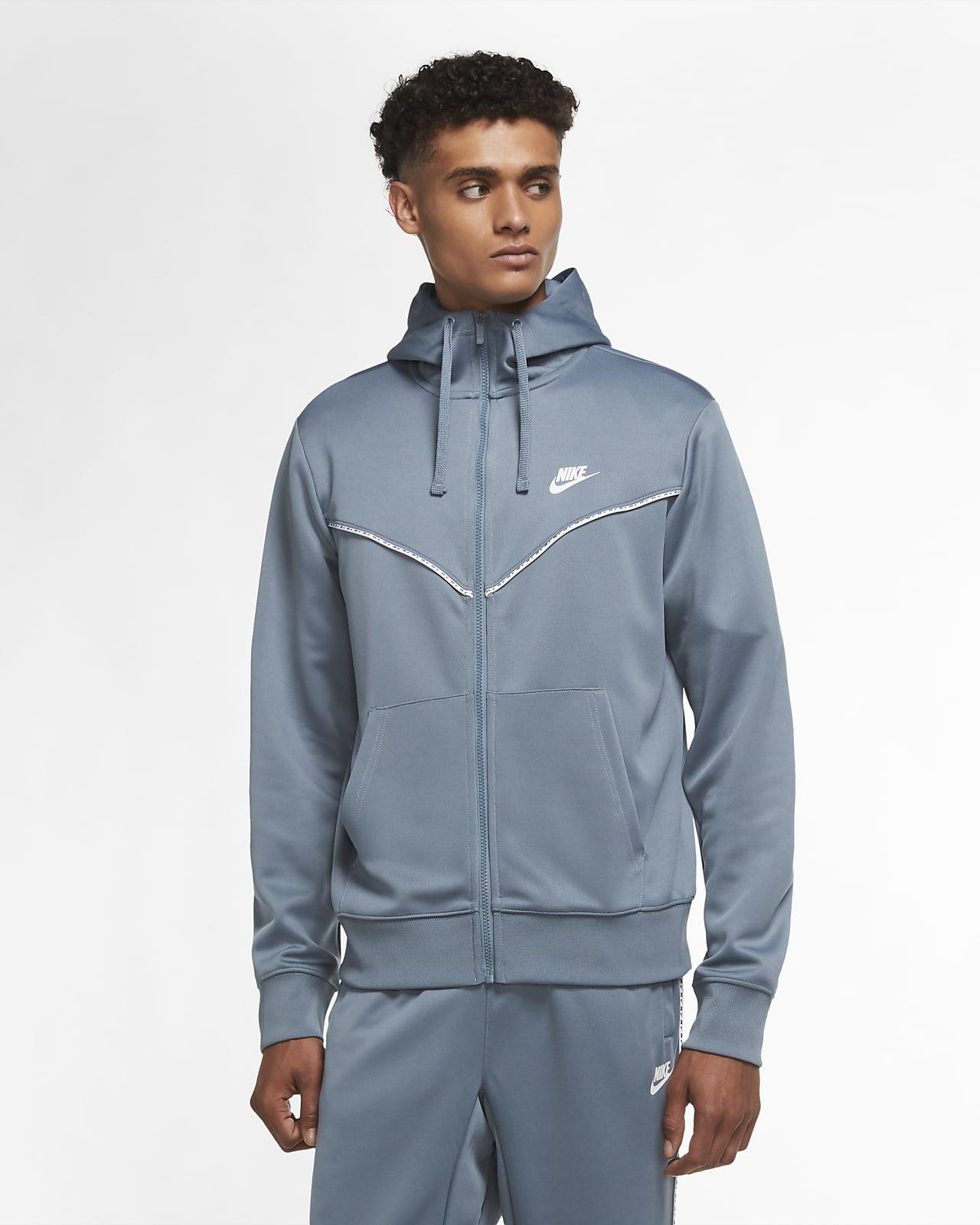 Nike Sportswear Herren Hoodie mit durchgehendem