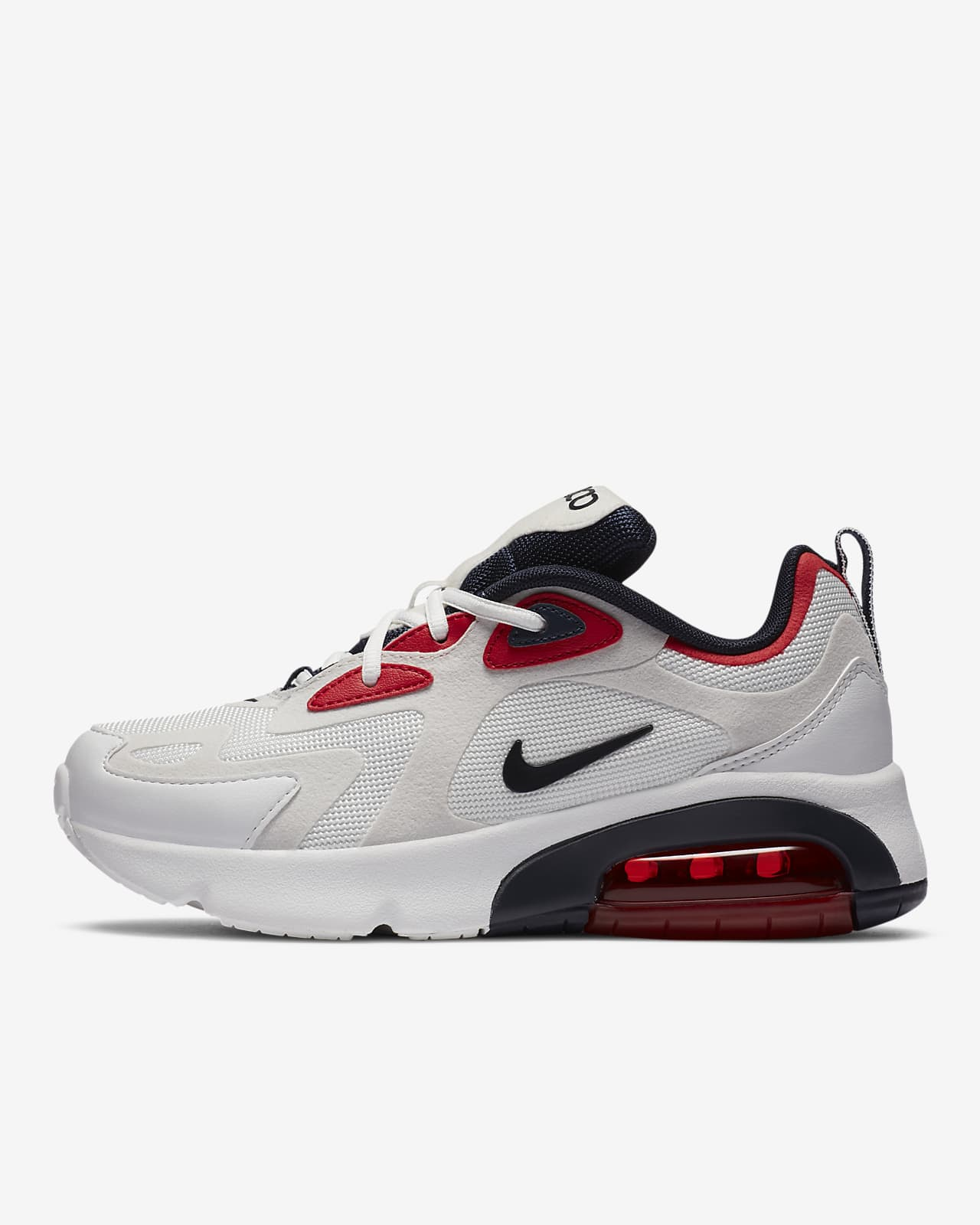 Edad adulta Detener Vadear  Nike Air Max 200 Big Kids' Shoe. Nike.com