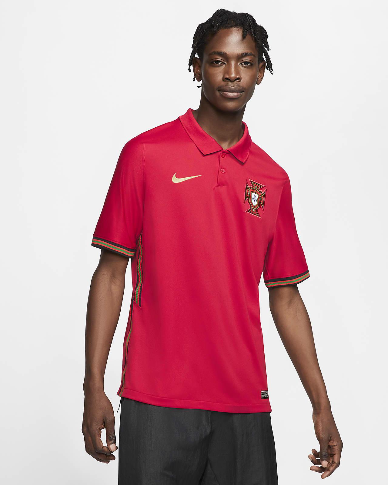 2020 赛季葡萄牙队主场球迷版男子足球球衣