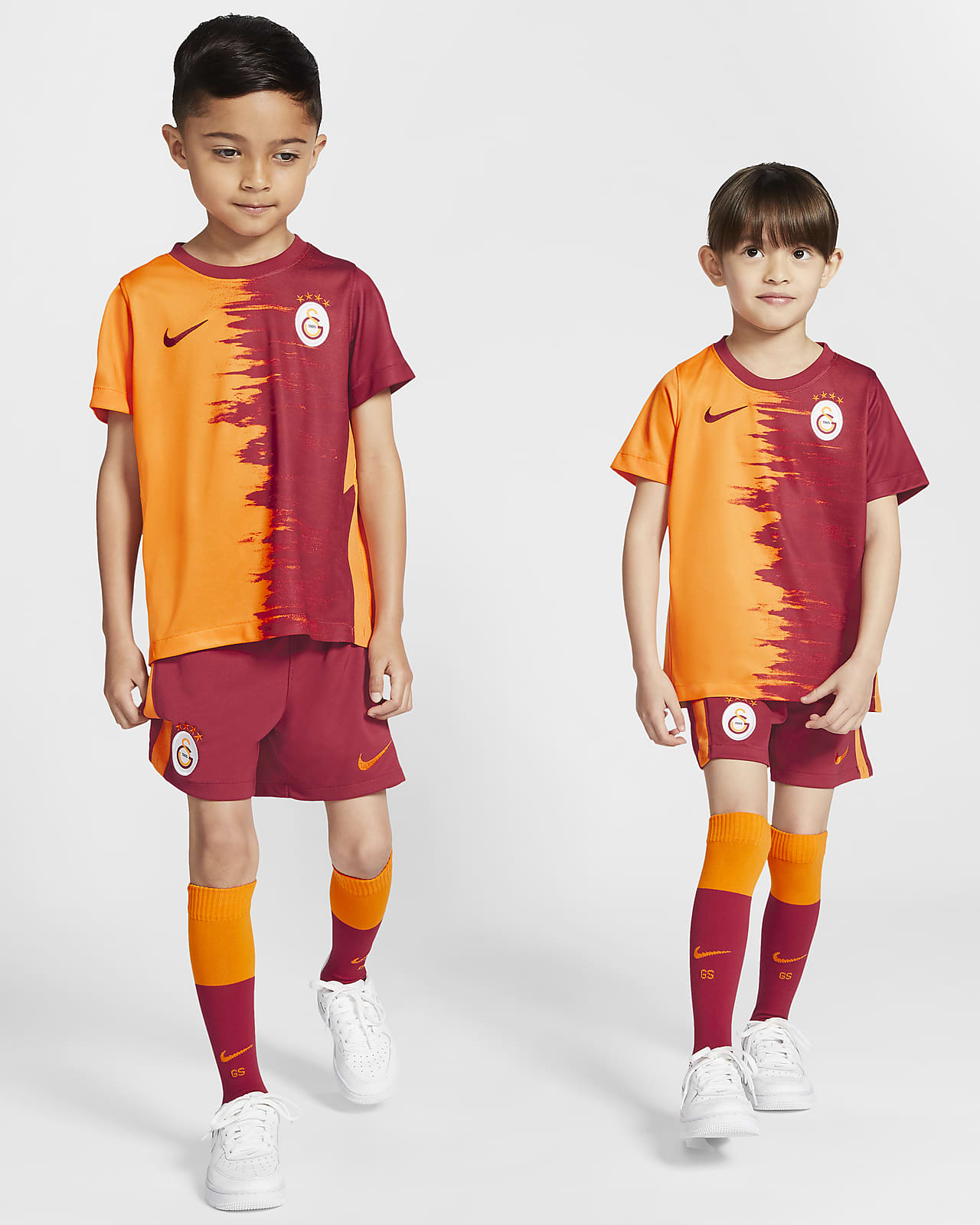 Galatasaray 2020/21 Home Fußballtrikot-Set für Kinder