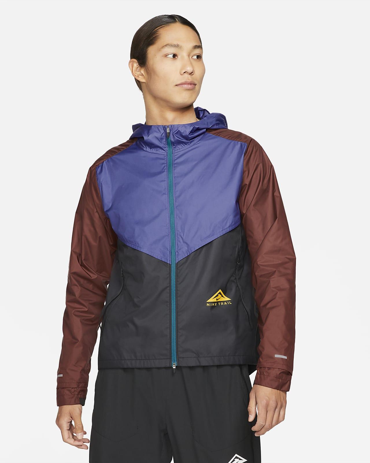 เสื้อแจ็คเก็ตวิ่งเทรลผู้ชาย Nike Windrunner