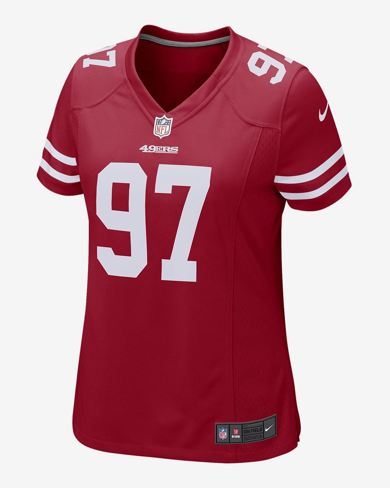 NFL San Francisco 49ers (Nick Bosa) Women's Game Football Jersey