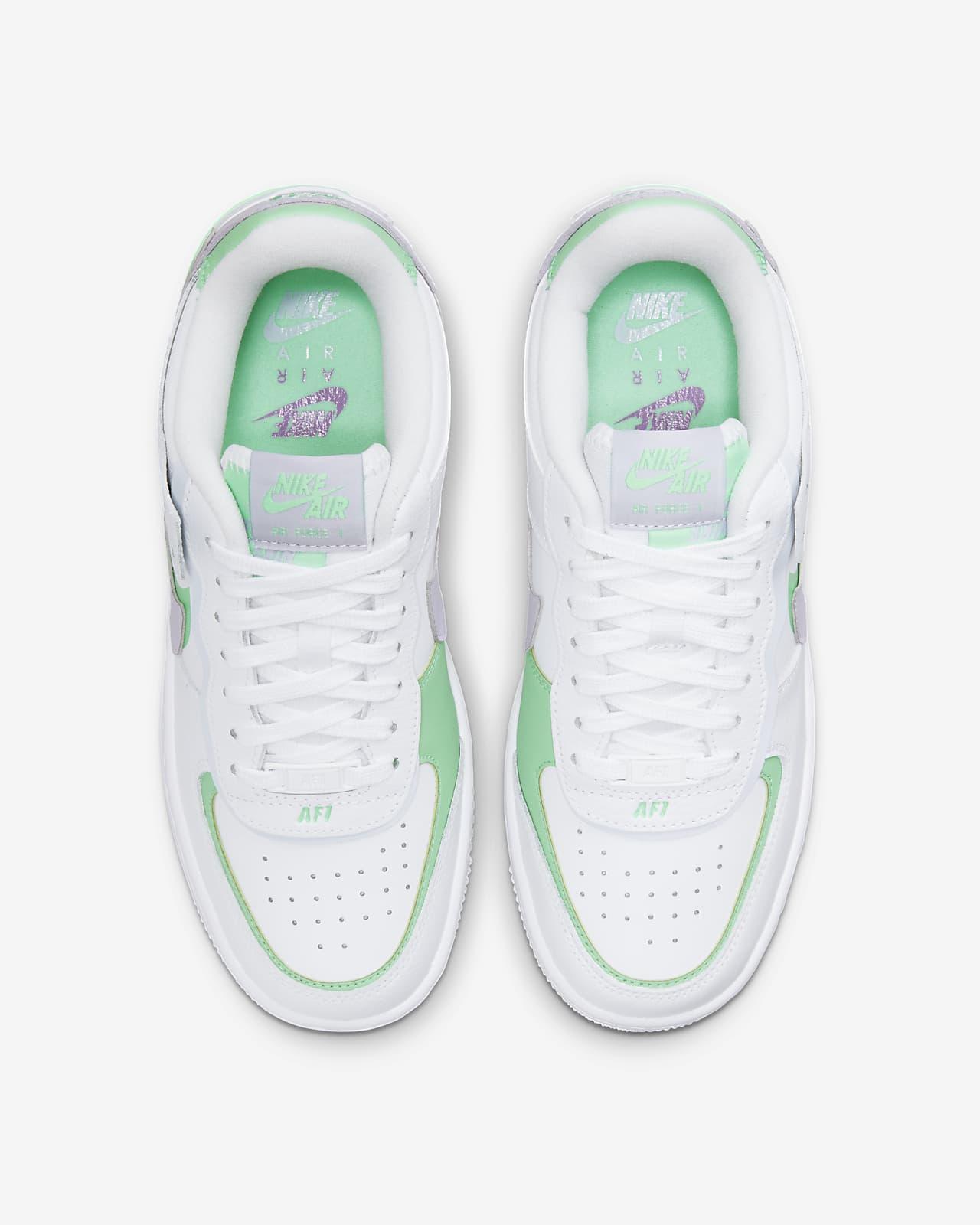 nike air force 1 verdi e bianche