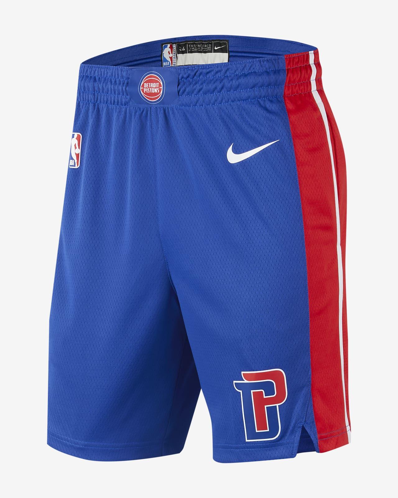 Detroit Pistons Icon Edition Men's Nike NBA Swingman Shorts