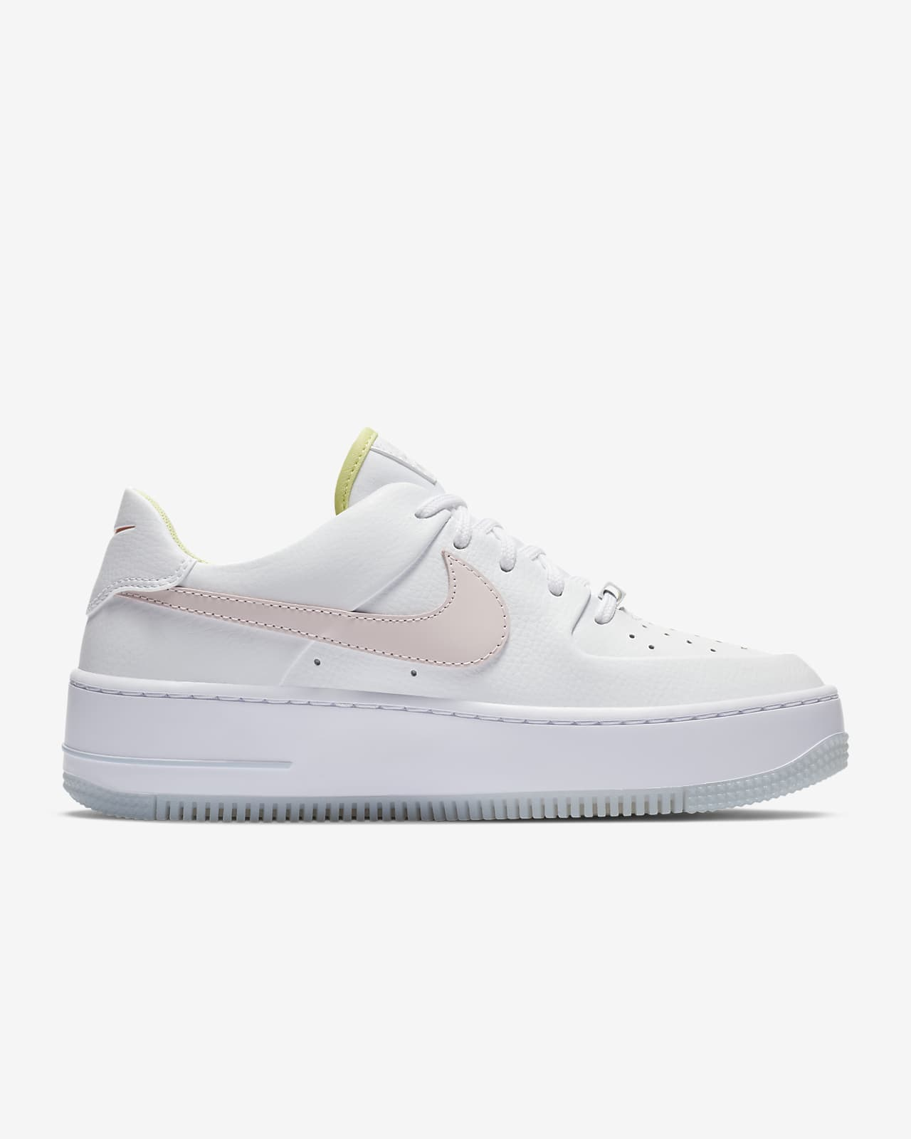 air force 1 sage low mujer rosa