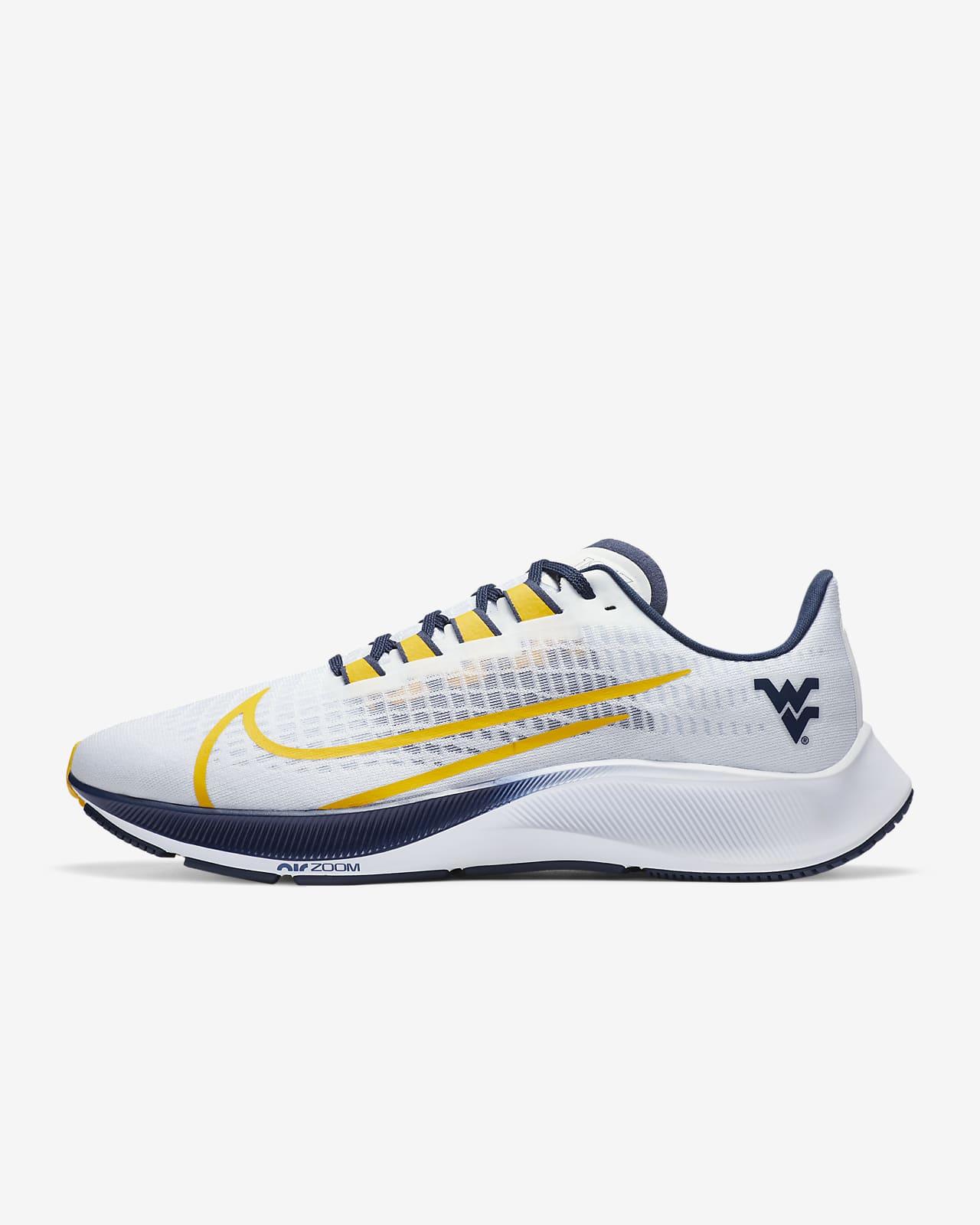 Nike College Zoom Pegasus 37 (West Virginia) Running Shoe