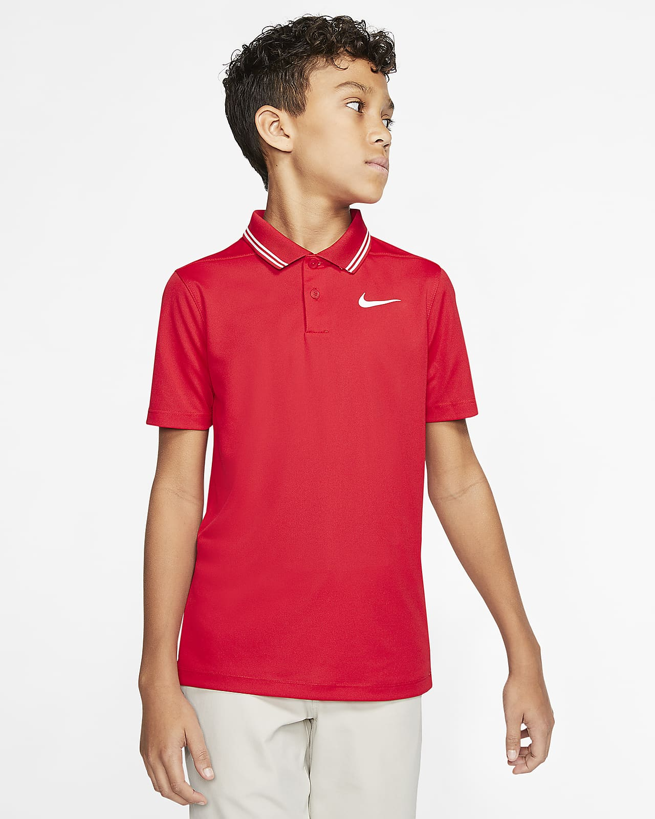 Nike Dri-FIT Victory Boys' Golf Polo