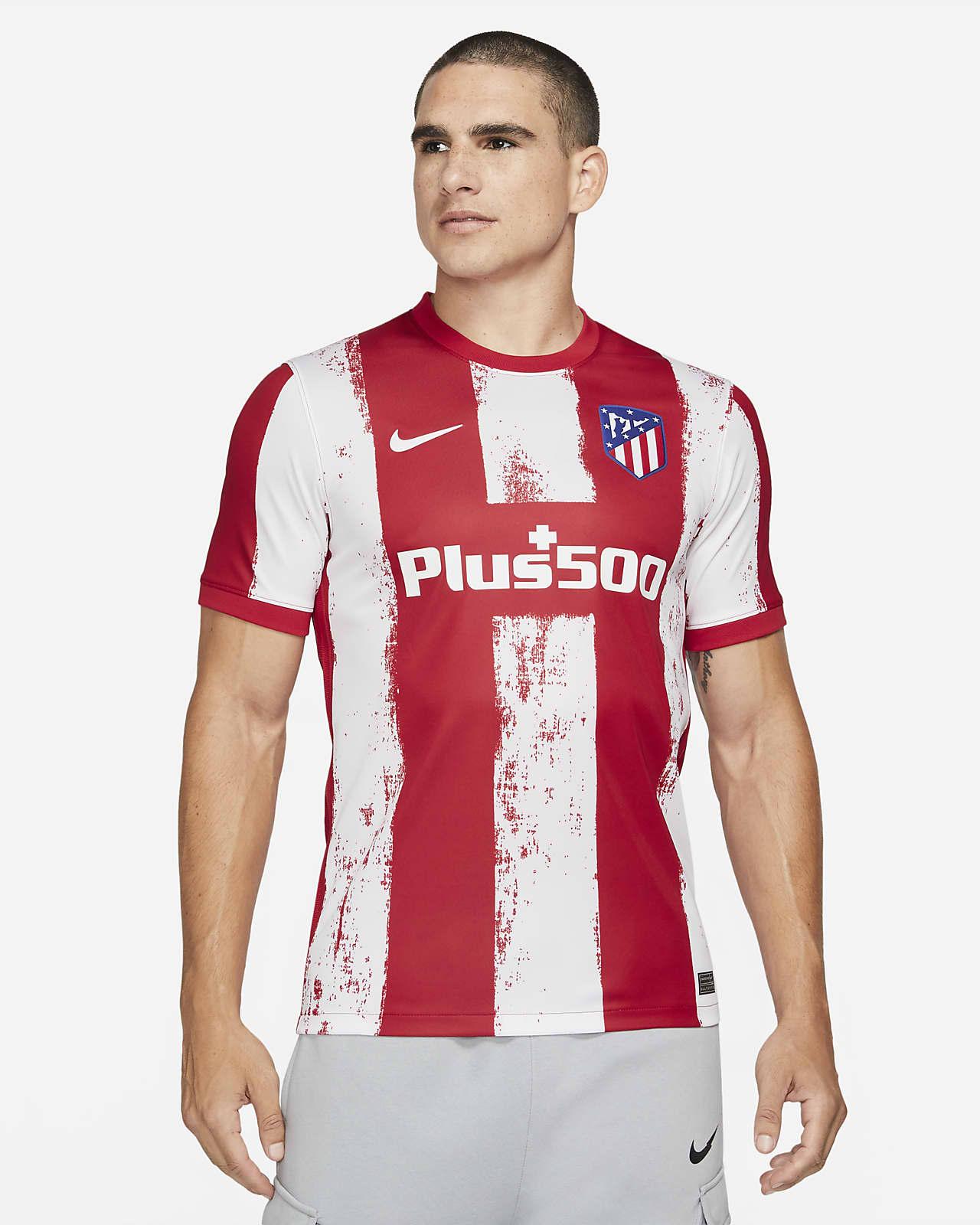 Atlético Madrid 2021/22 Stadyum İç Saha Erkek Futbol Forması
