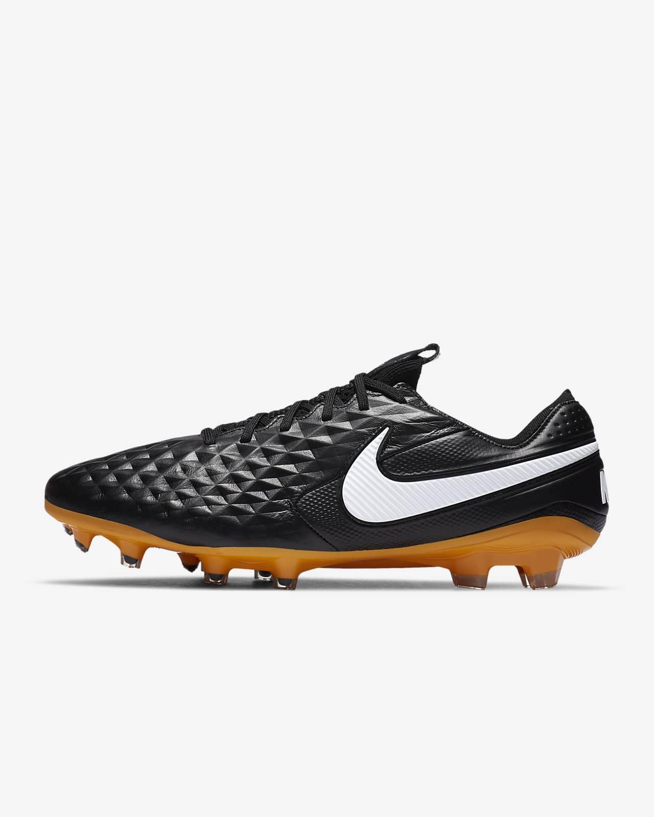 Chaussure de football à crampons pour terrain sec Nike Tiempo Legend 8 Elite Tech Craft FG