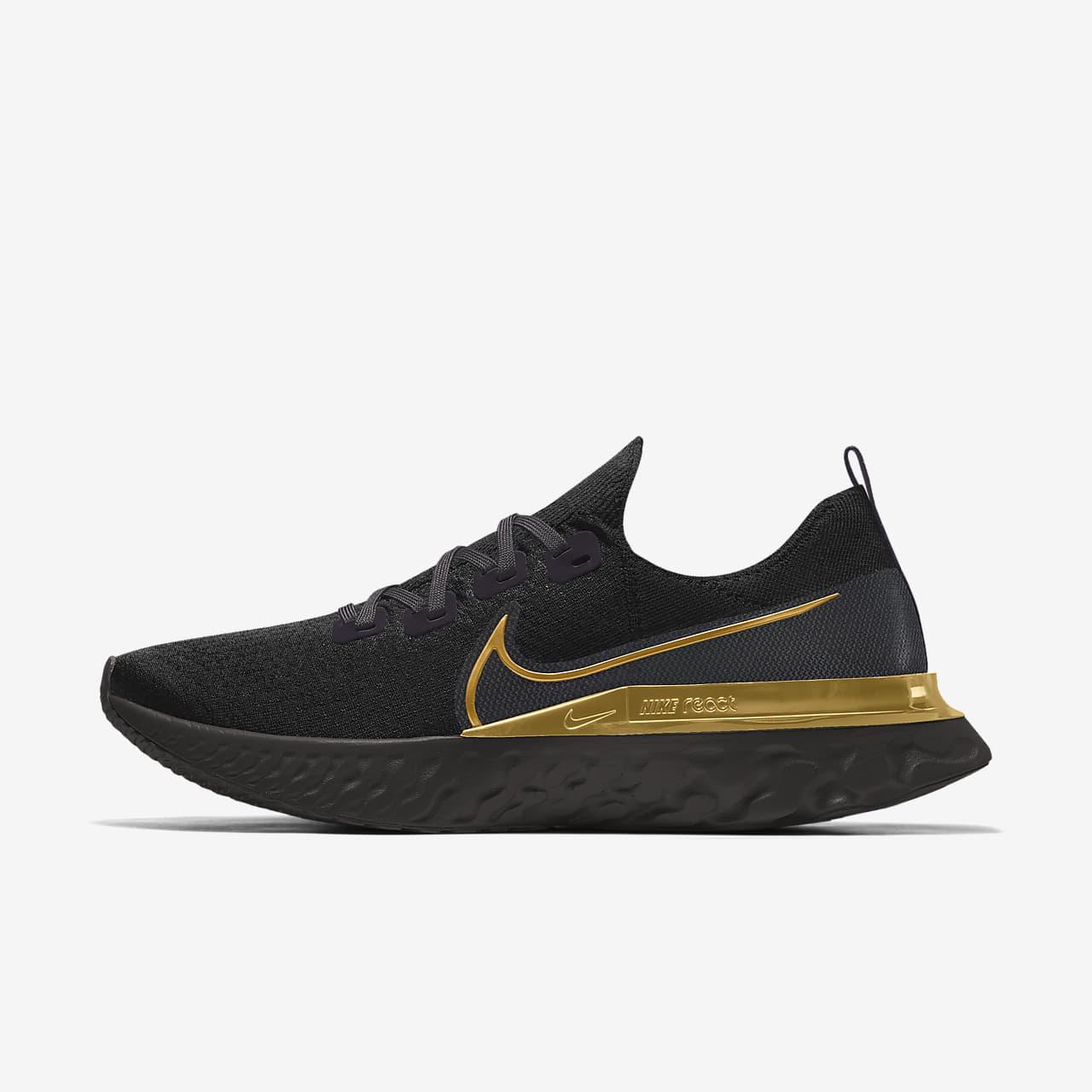 Calzado de running personalizado para hombre Nike React Infinity Run Flyknit By You
